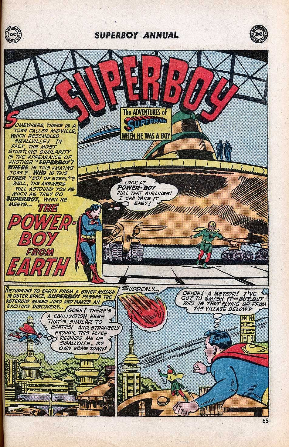 Superboy (1949) issue Annual 1 - Page 67