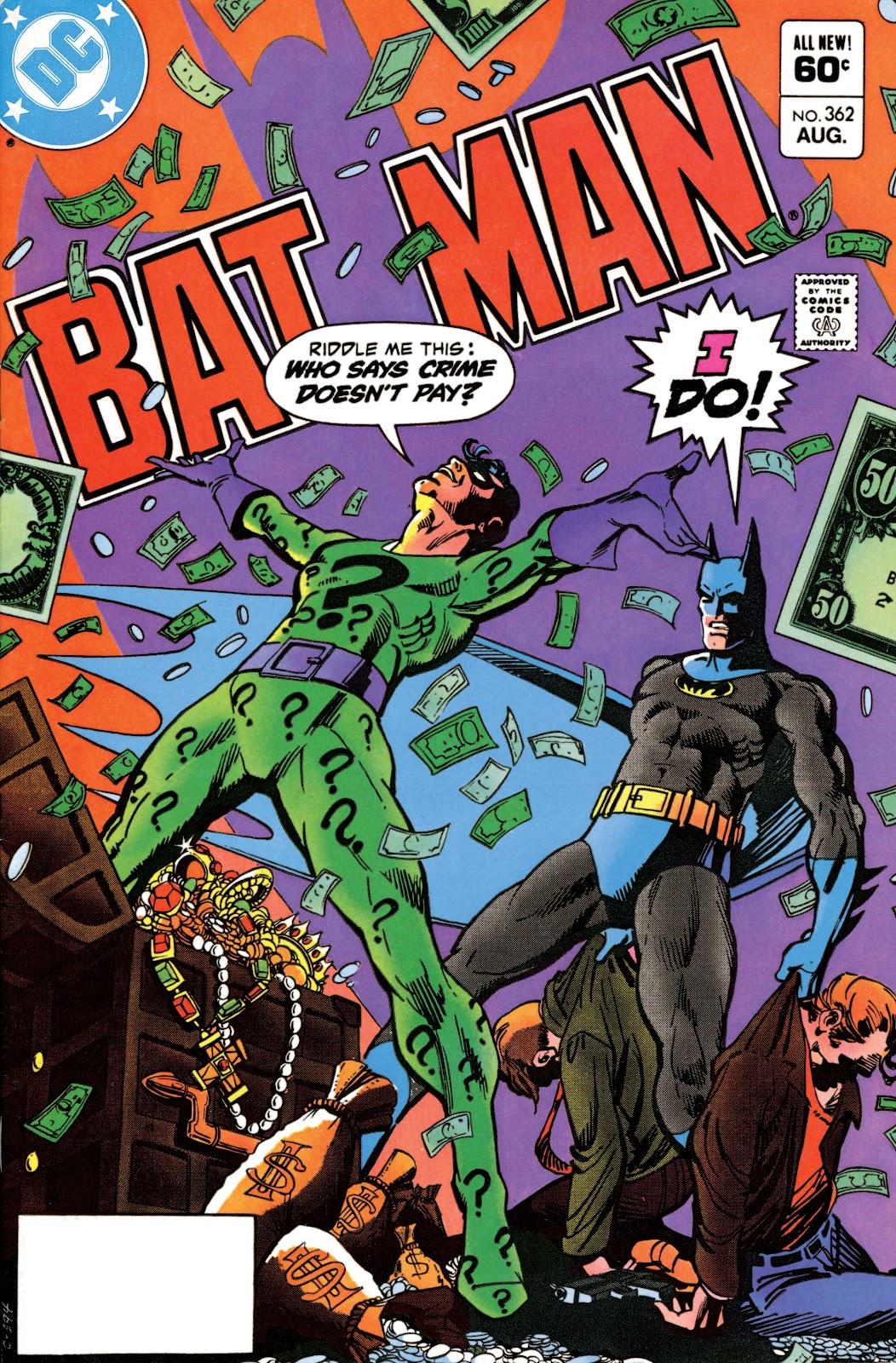 Batman (1940) 362 Page 1