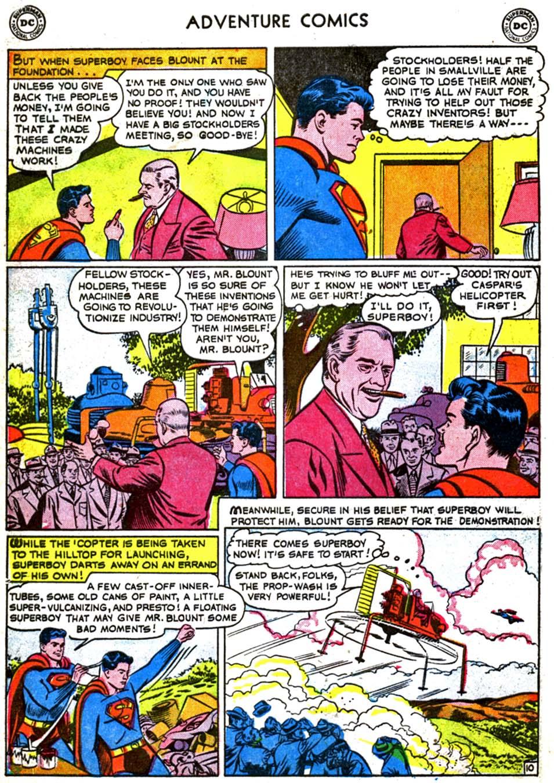 Read online Adventure Comics (1938) comic -  Issue #179 - 12