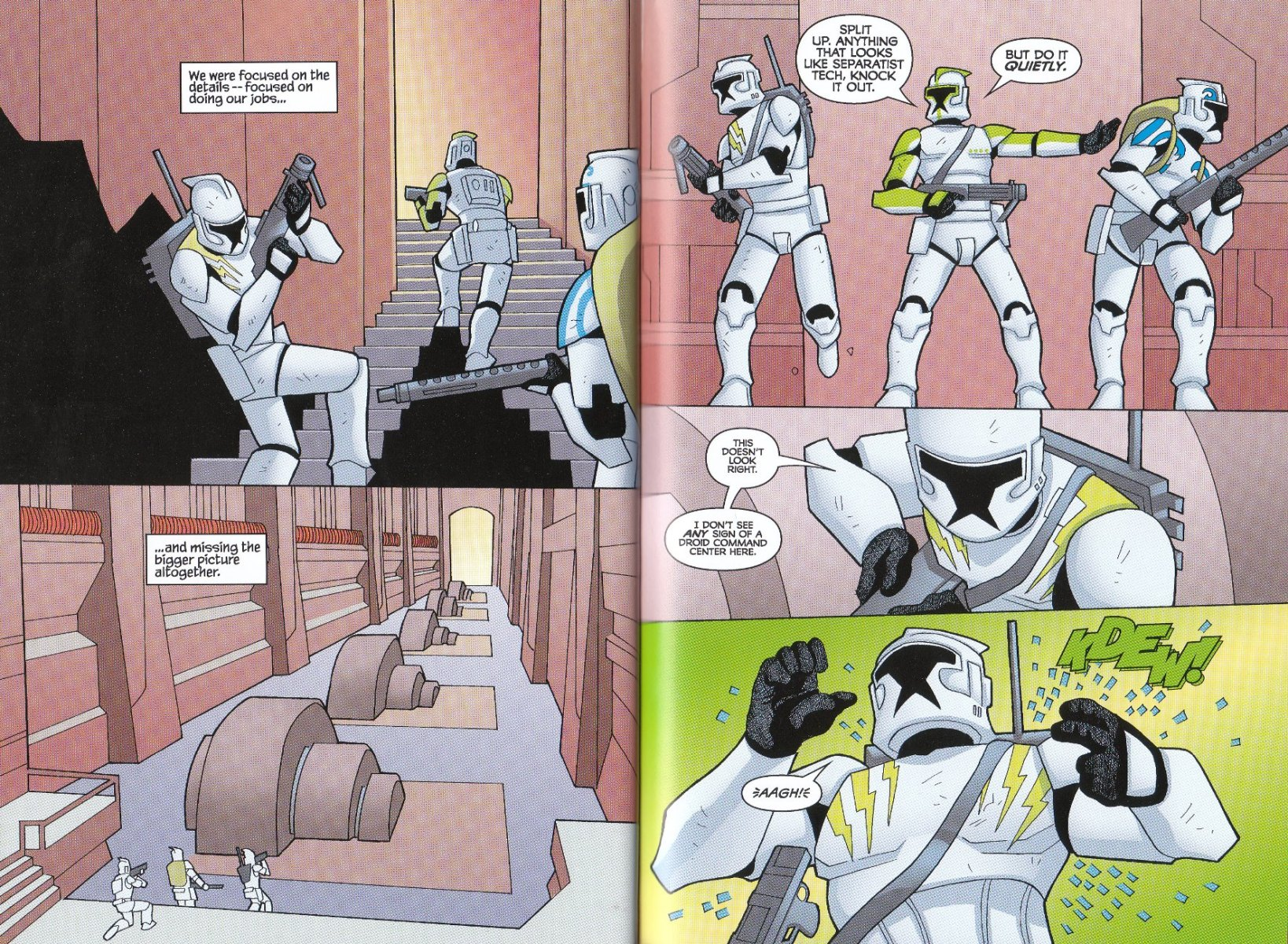 Read online Star Wars: The Clone Wars - The Enemy Within comic -  Issue # Full - 26