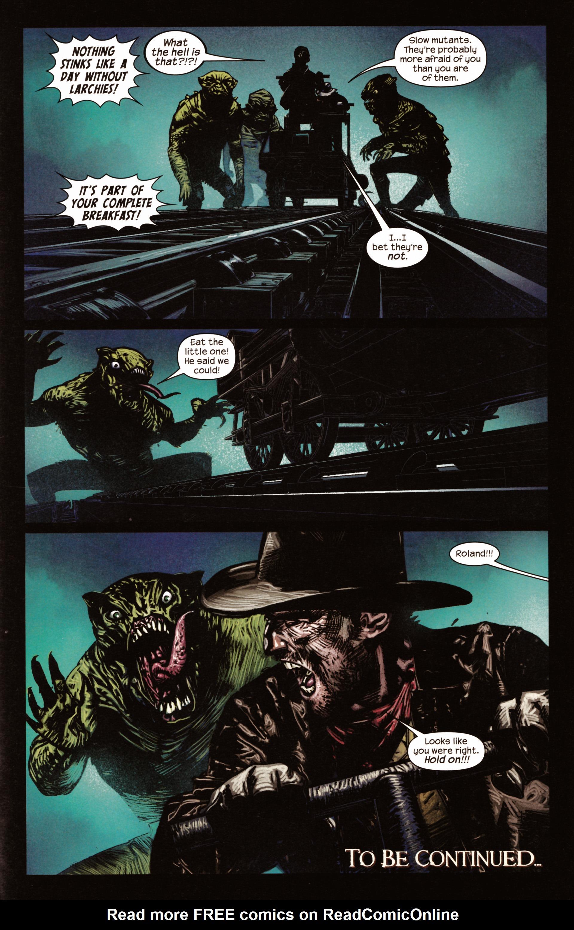 Read online Dark Tower: The Gunslinger - The Man in Black comic -  Issue #2 - 24