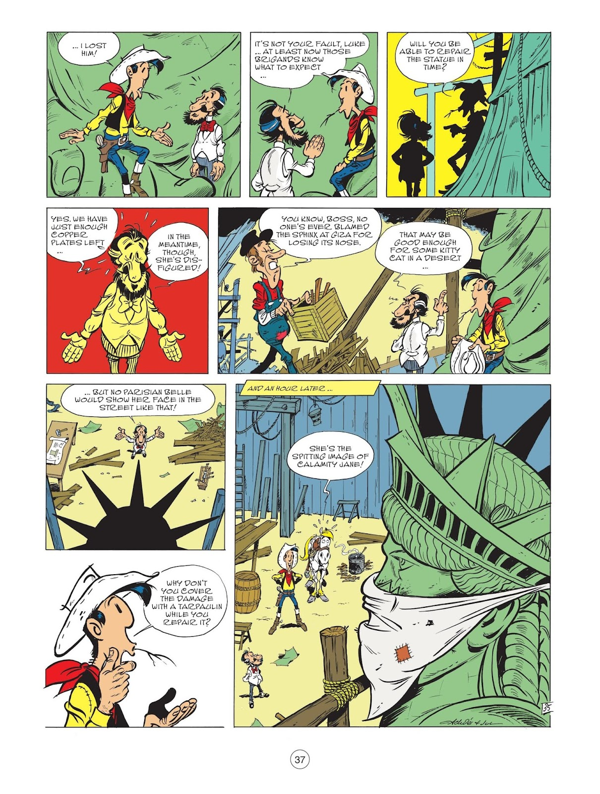 A Lucky Luke Adventure issue 71 - Page 39