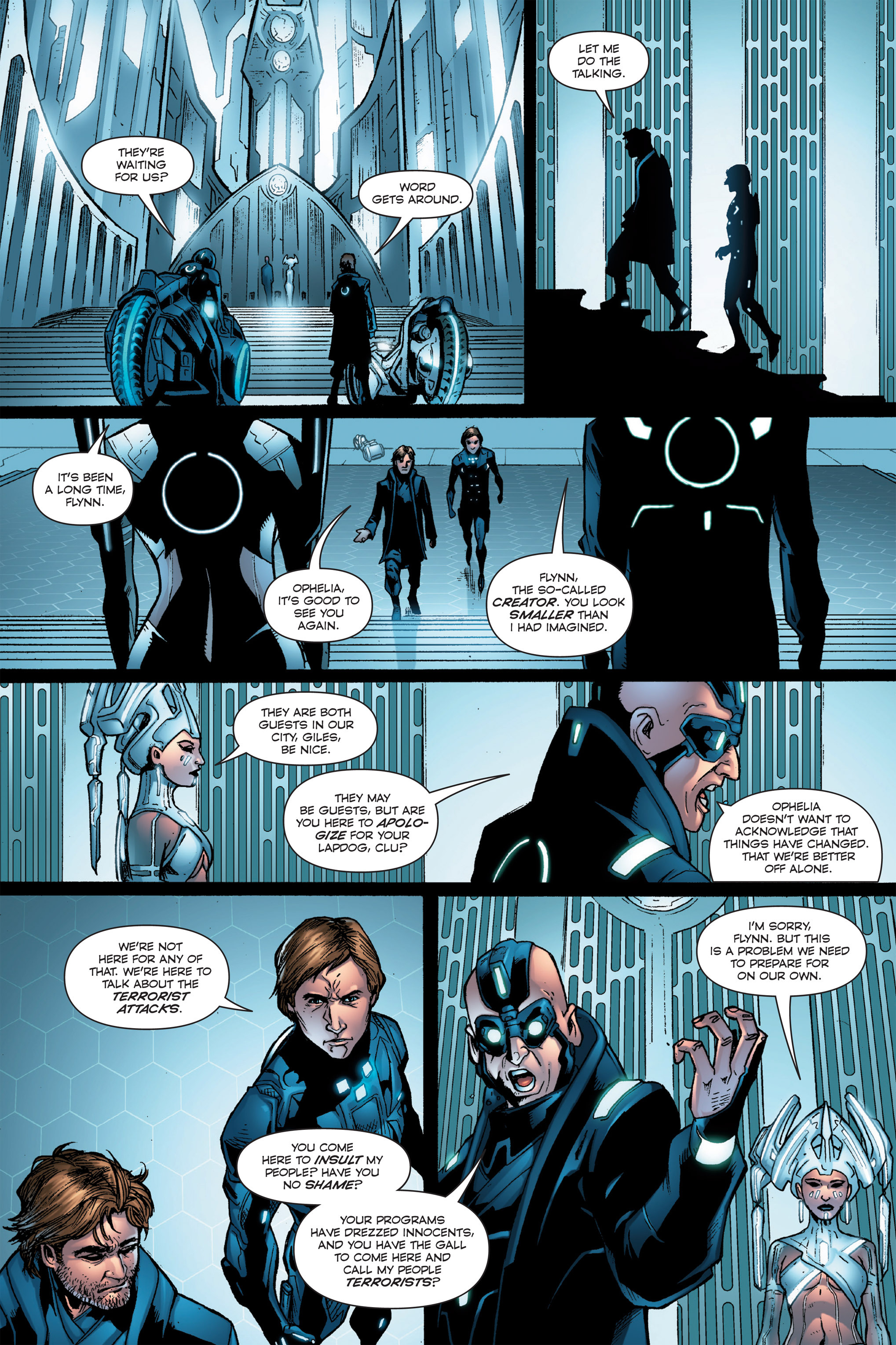 Read online TRON: Betrayal comic -  Issue # TPB - 72