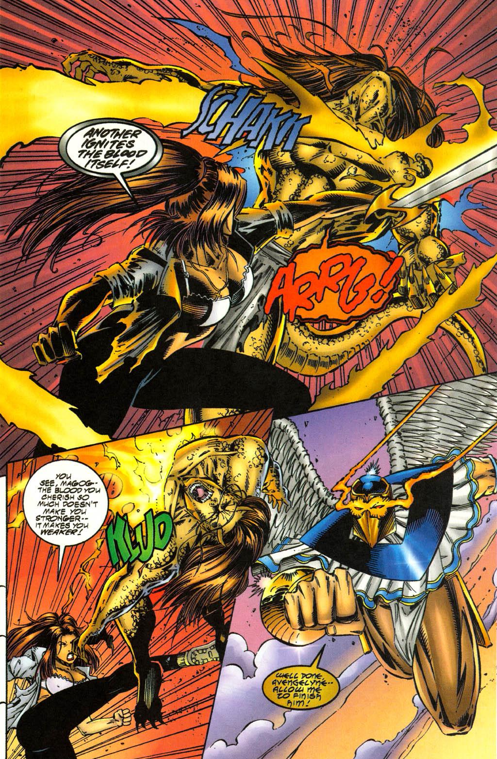 Read online Avengelyne (1996) comic -  Issue #3 - 21