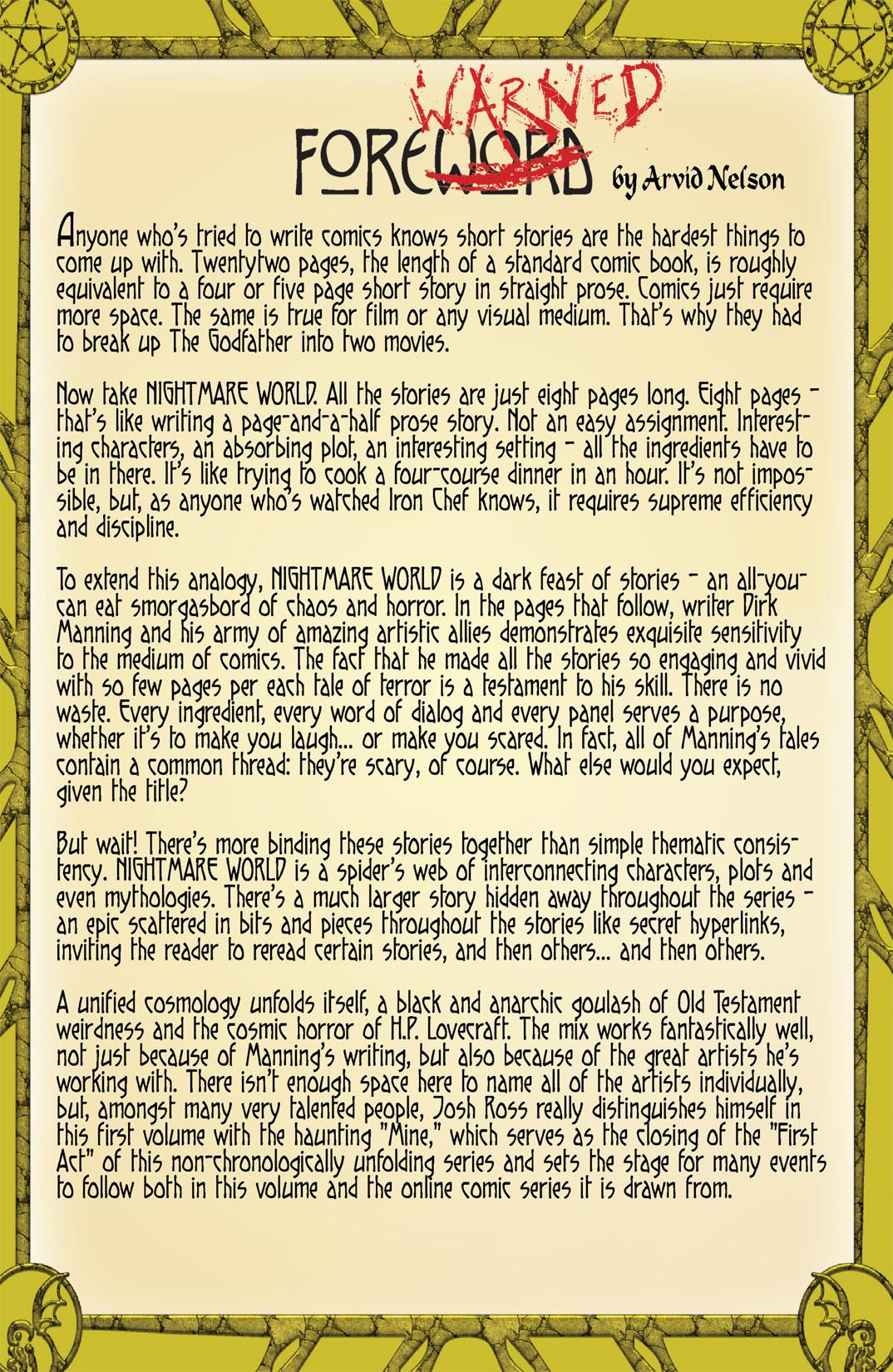 Read online Nightmare World comic -  Issue # Vol. 1 Thirteen Tales of Terror - 5