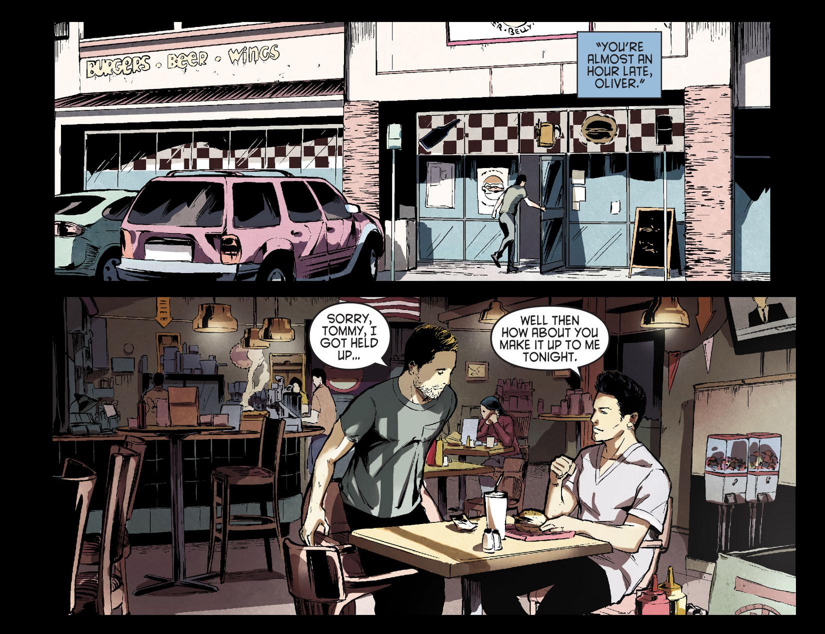 Read online Arrow [II] comic -  Issue #7 - 7
