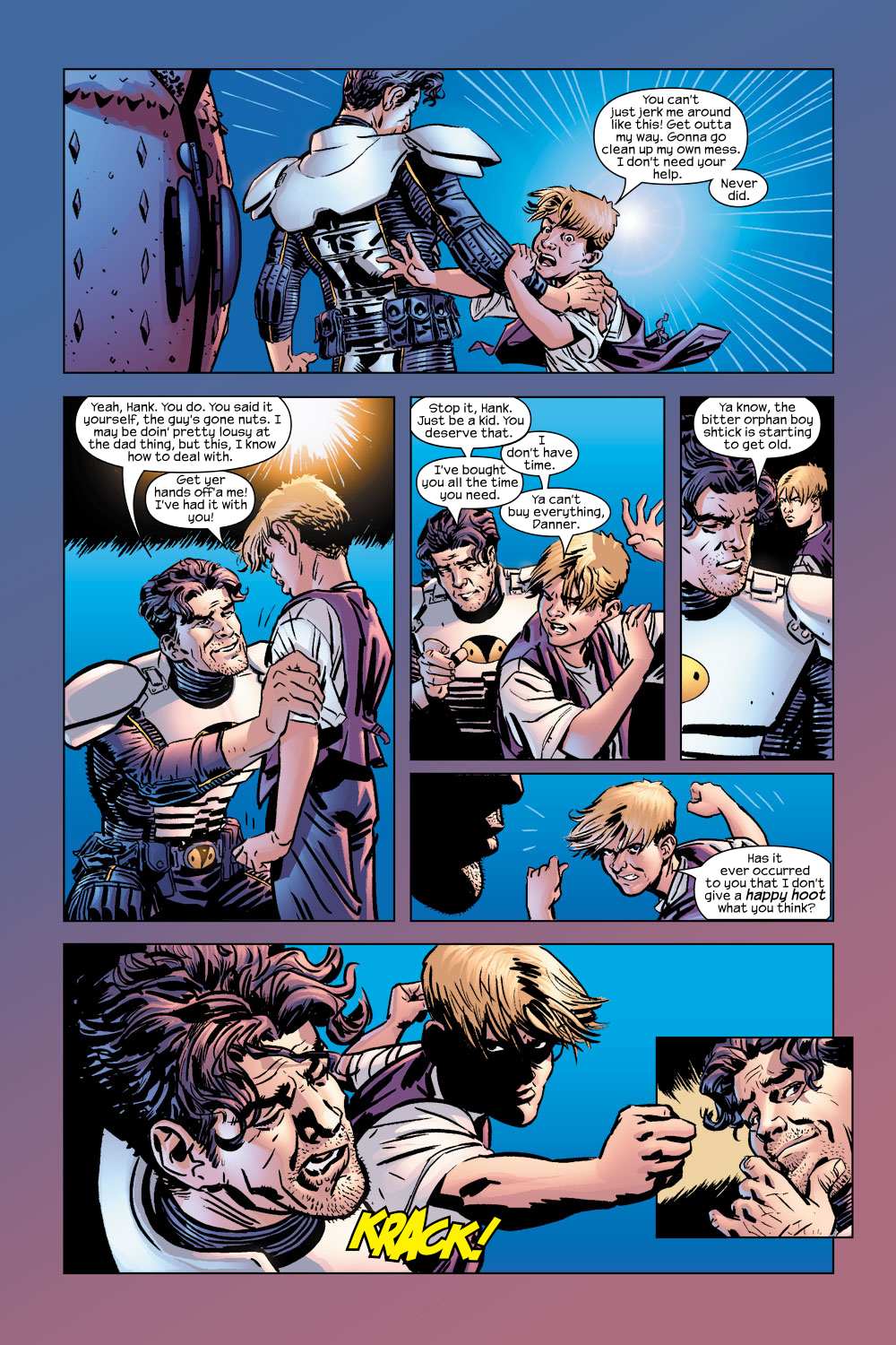 Read online Ultimate Adventures comic -  Issue #5 - 6