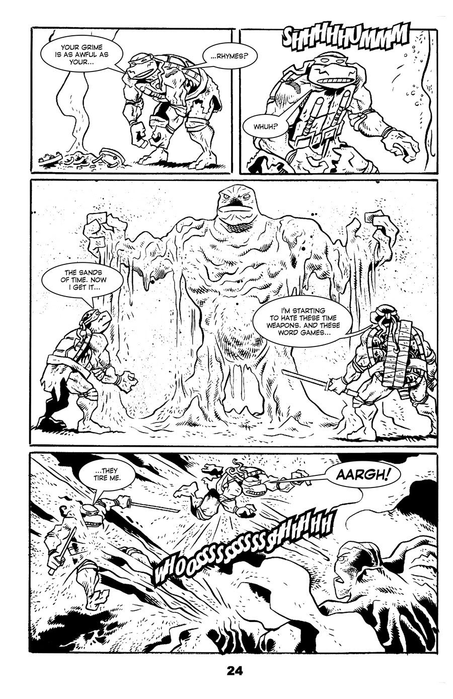 Read online Tales of the TMNT comic -  Issue #71 - 28