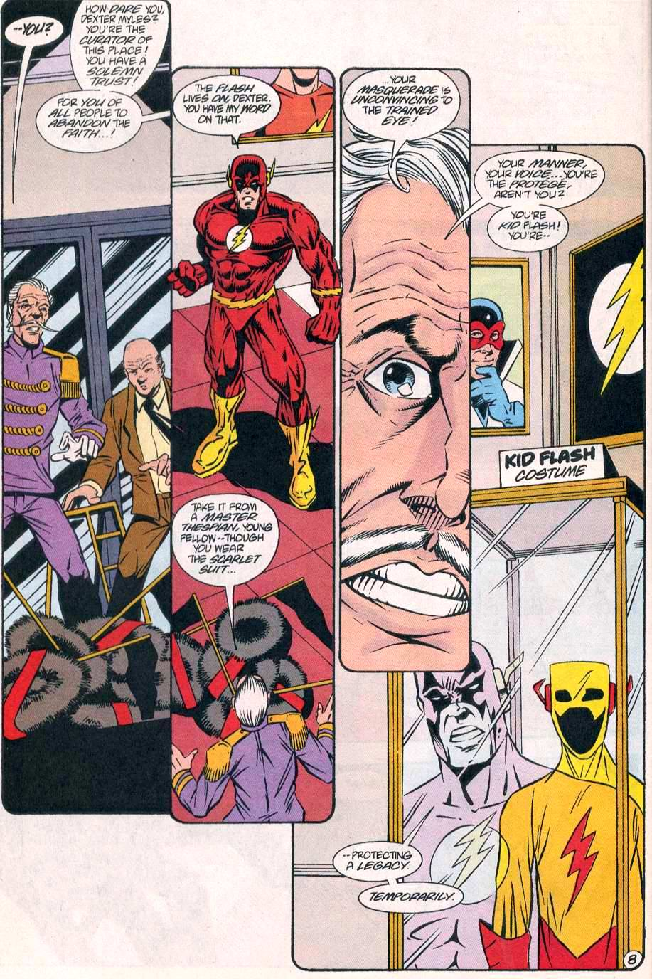 Read online The Flash (1987) comic -  Issue # _Annual 8 - 9