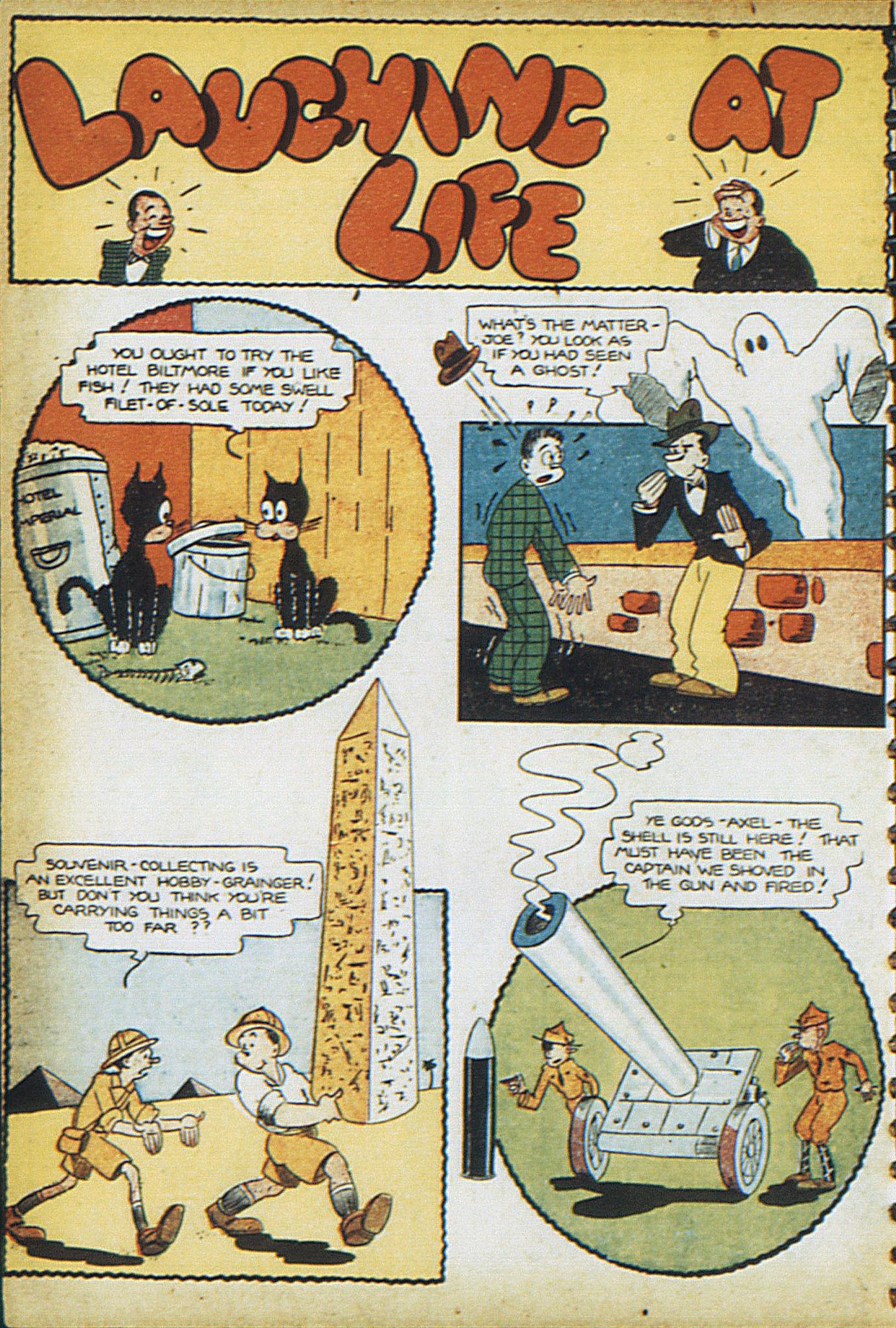 Read online Adventure Comics (1938) comic -  Issue #17 - 35