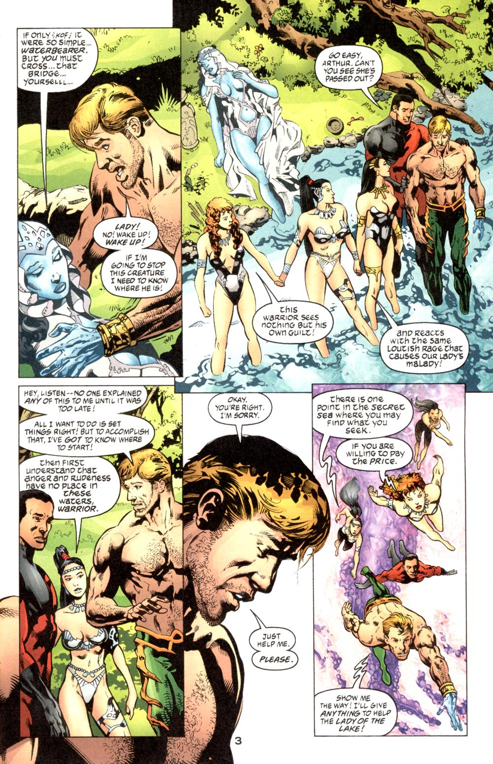 Read online Aquaman (2003) comic -  Issue #6 - 4