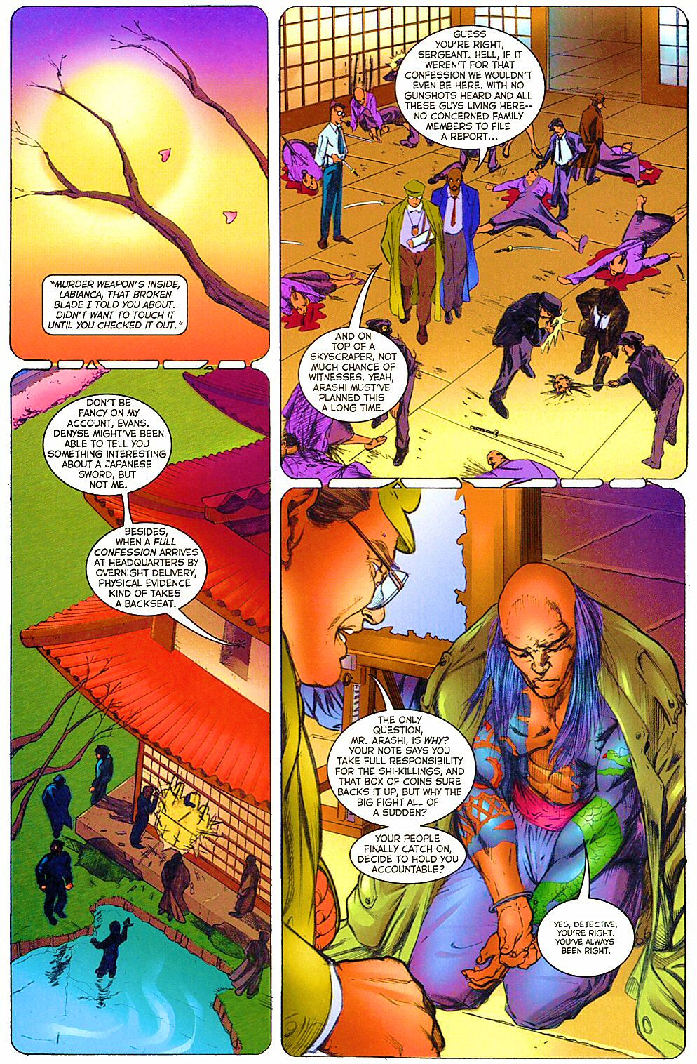 Read online Shi: The Way of the Warrior comic -  Issue #12 - 24
