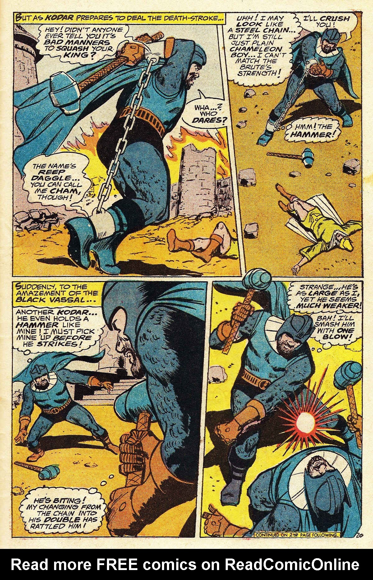 Read online Adventure Comics (1938) comic -  Issue #376 - 27