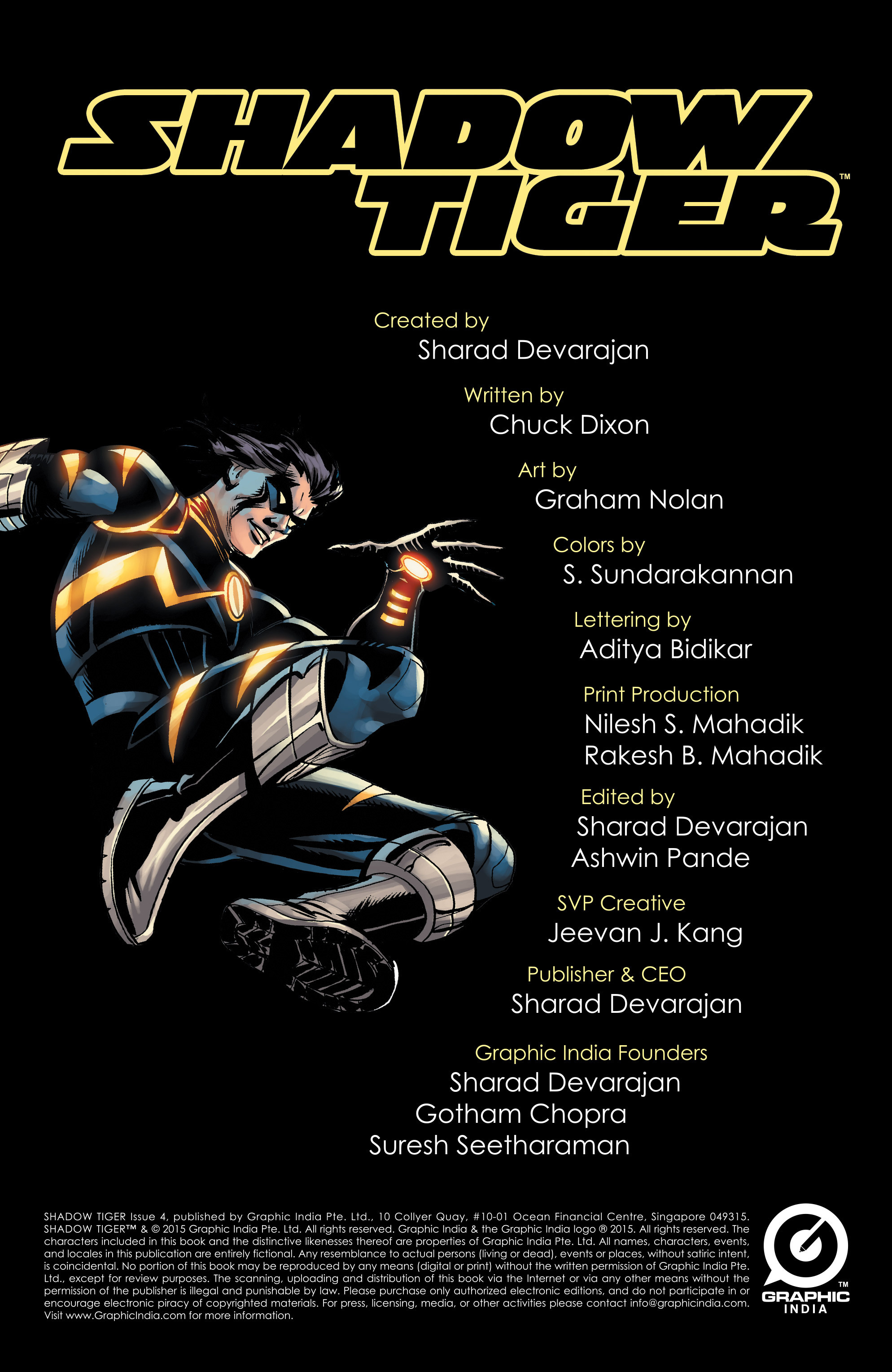 Read online Shadow Tiger comic -  Issue #4 - 2