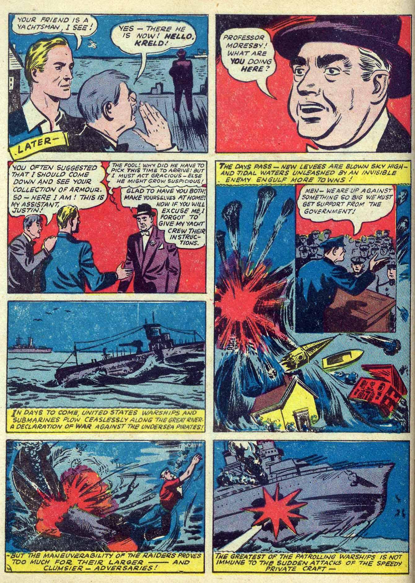 Read online Adventure Comics (1938) comic -  Issue #70 - 22
