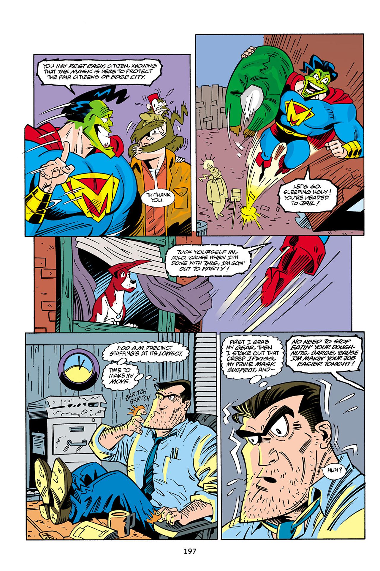 Read online Adventures Of The Mask Omnibus comic -  Issue #Adventures Of The Mask Omnibus Full - 196