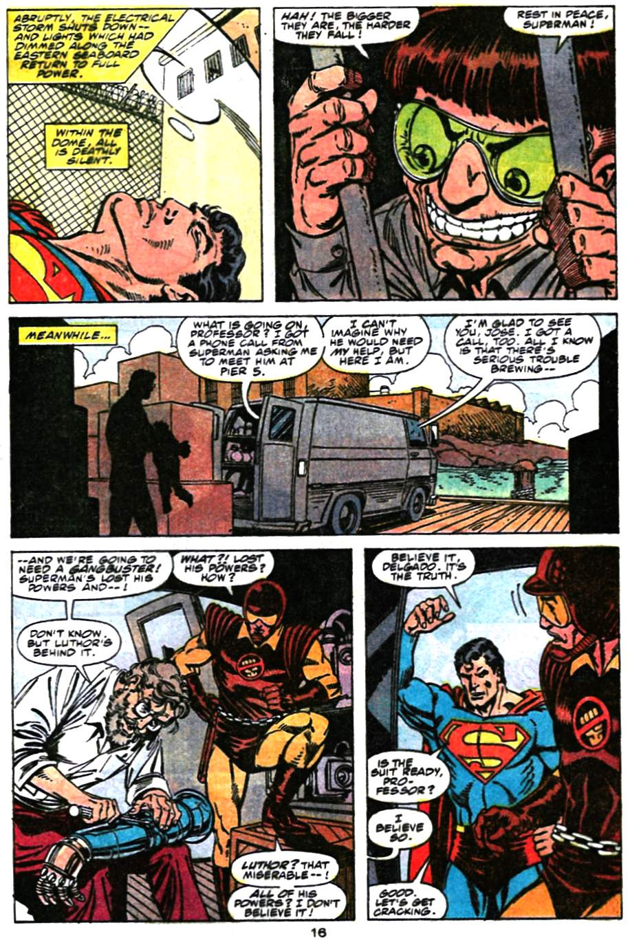 Read online Action Comics (1938) comic -  Issue #659 - 17
