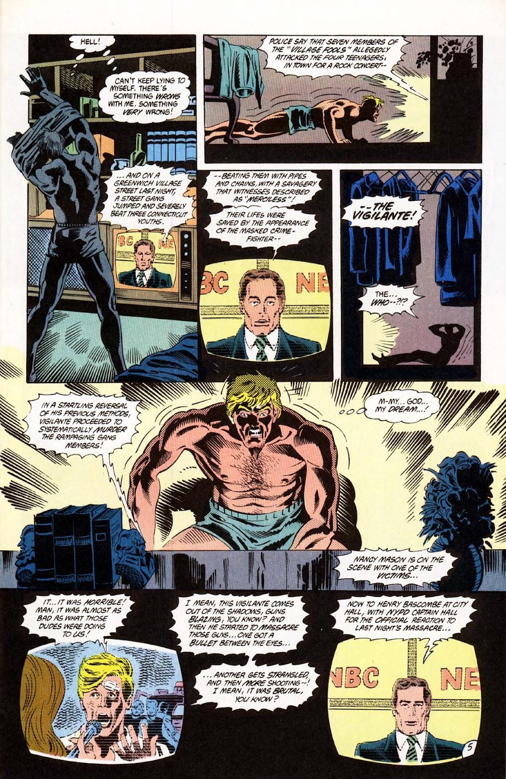 Vigilante (1983) issue 20 - Page 6