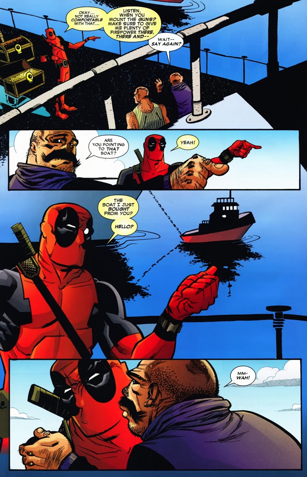 Read online Deadpool (2008) comic -  Issue #13 - 10