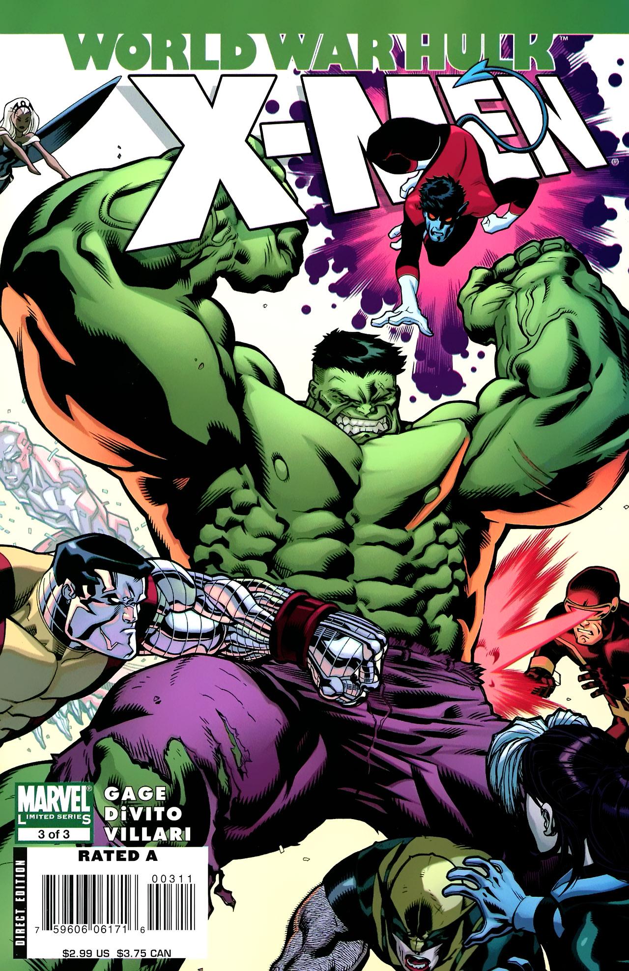 Read online World War Hulk: X-Men comic -  Issue #3 - 1