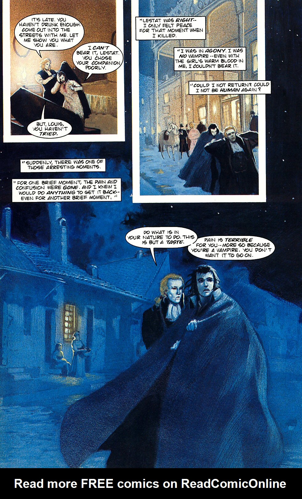 Read online Anne Rice's Interview with the Vampire comic -  Issue #3 - 25