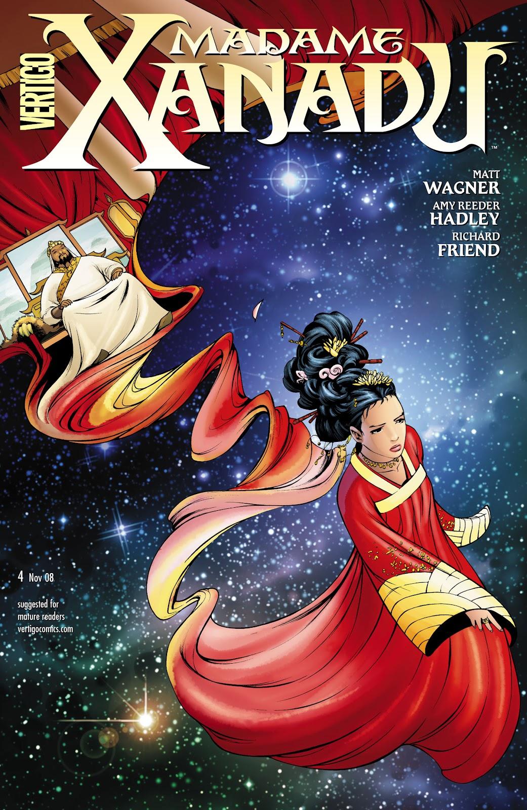 Madame Xanadu issue 4 - Page 1