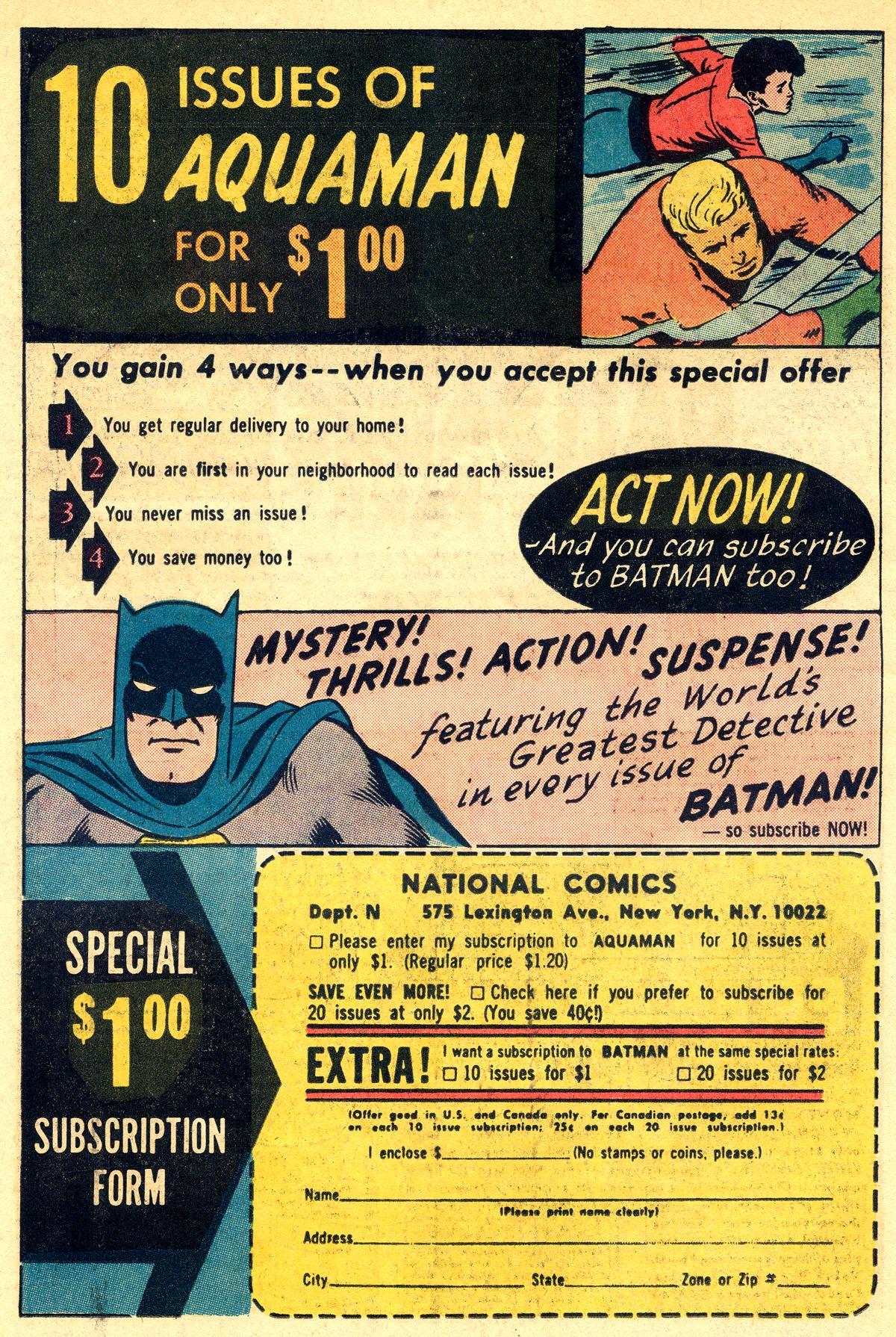 Read online Aquaman (1962) comic -  Issue #23 - 34