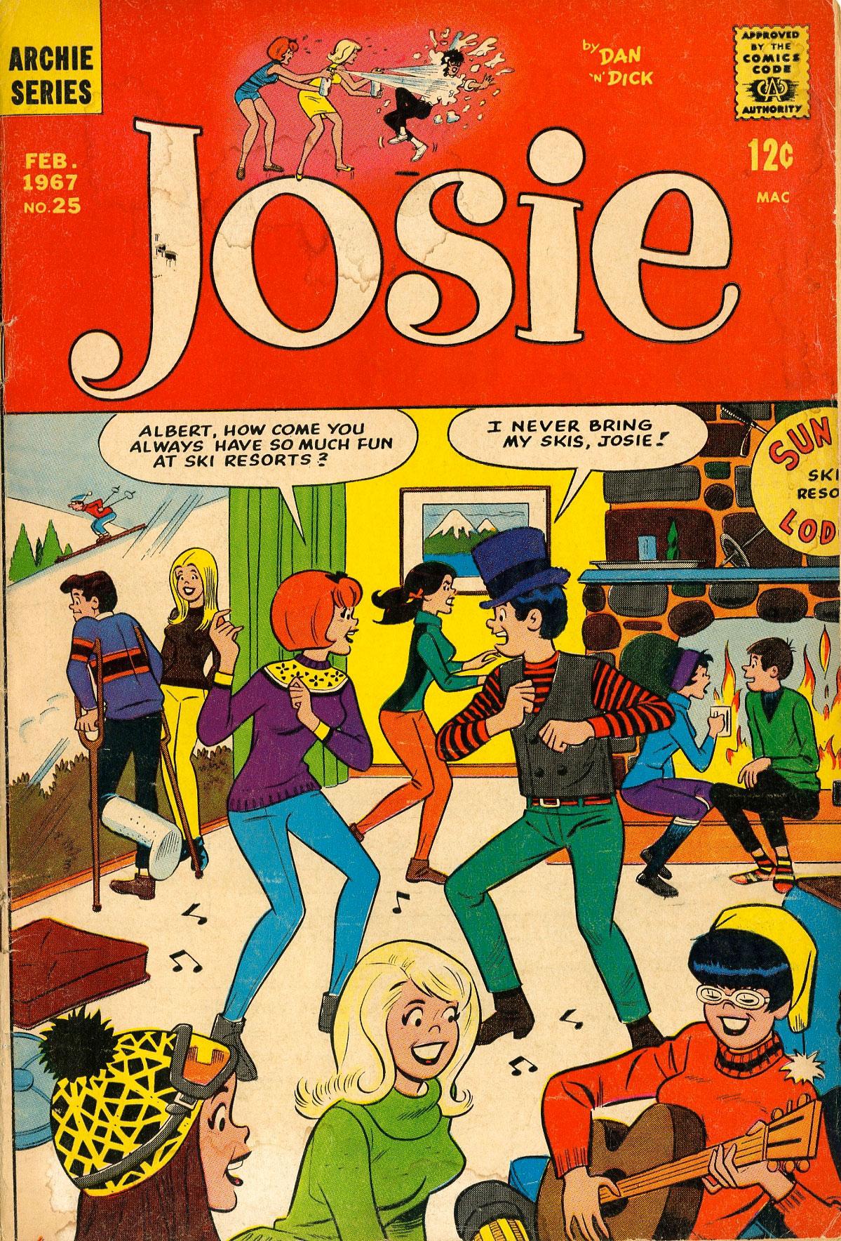 Read online She's Josie comic -  Issue #25 - 1