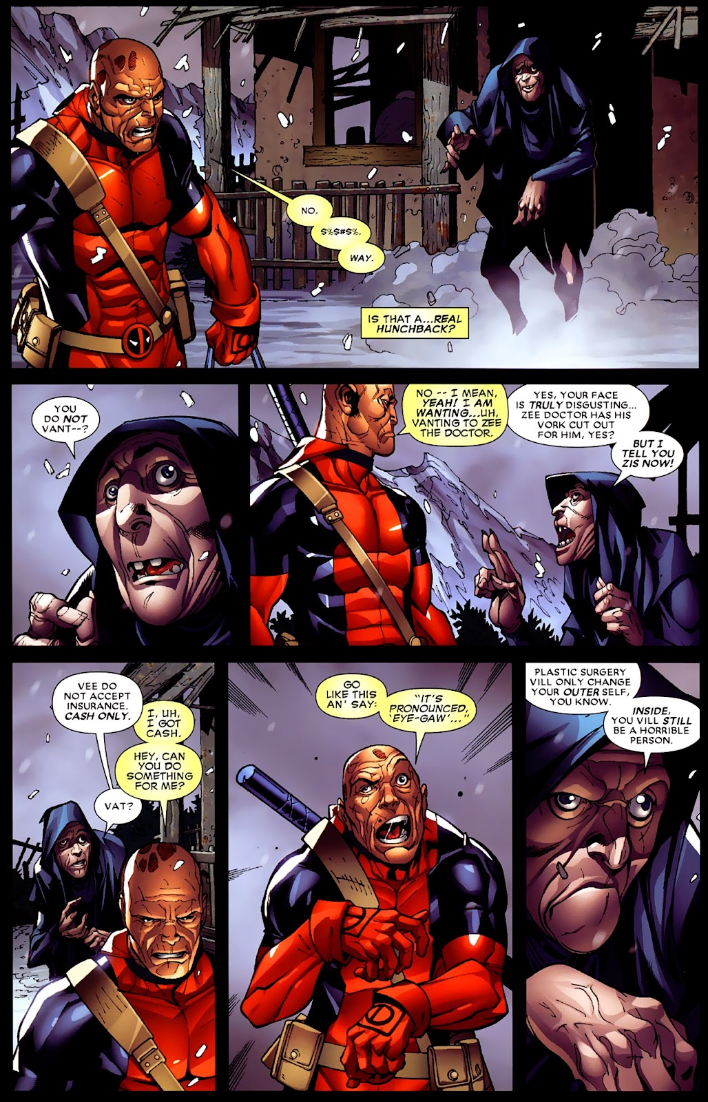 Read online Deadpool (2008) comic -  Issue #4 - 21