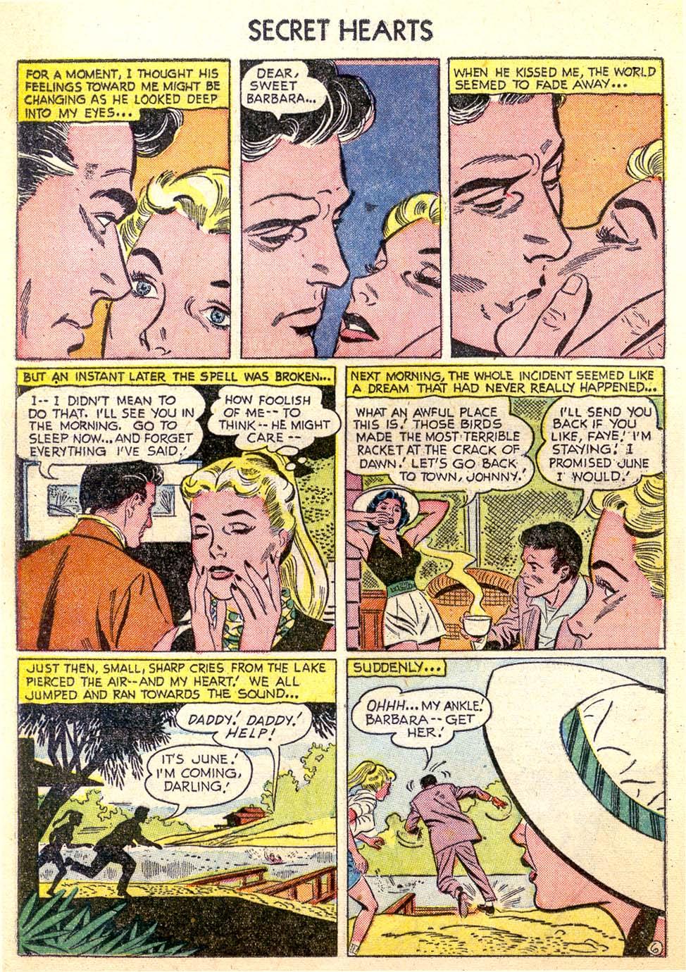 Read online Secret Hearts comic -  Issue #26 - 24