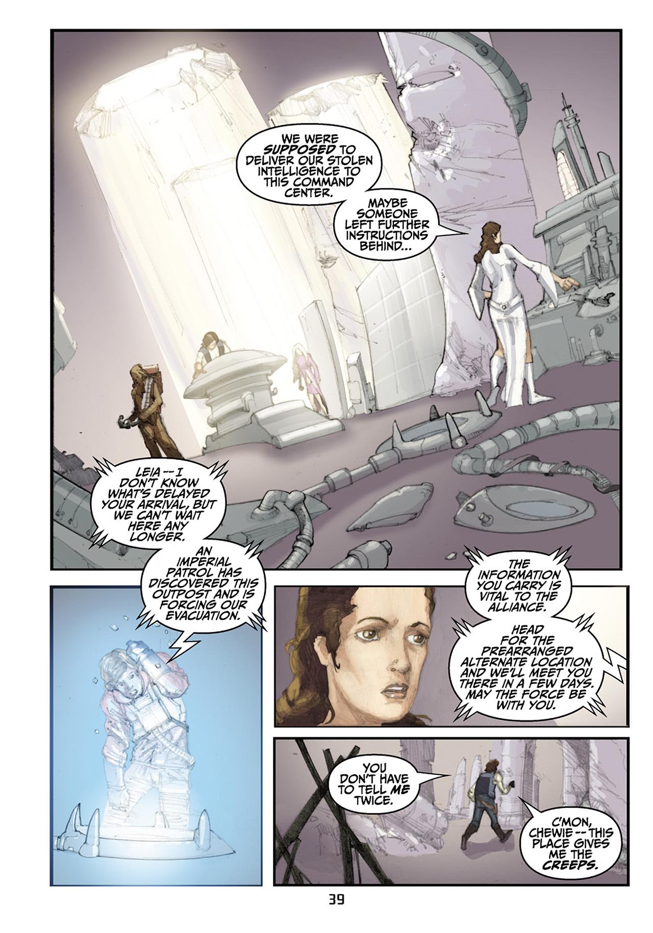 Read online Star Wars Omnibus comic -  Issue # Vol. 33 - 121