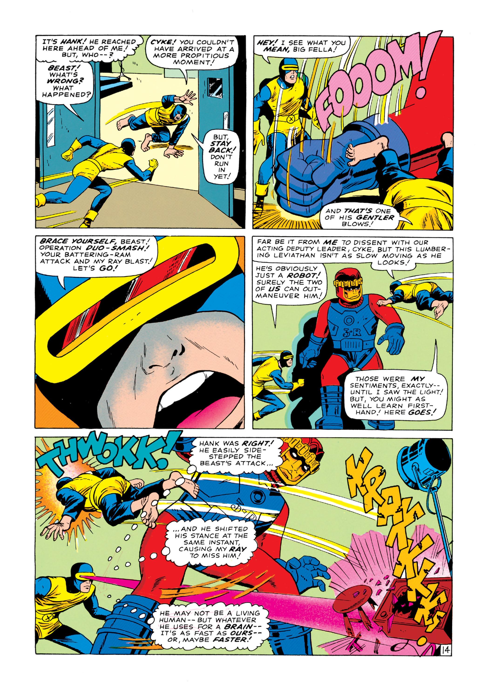 Read online Uncanny X-Men (1963) comic -  Issue #14 - 15