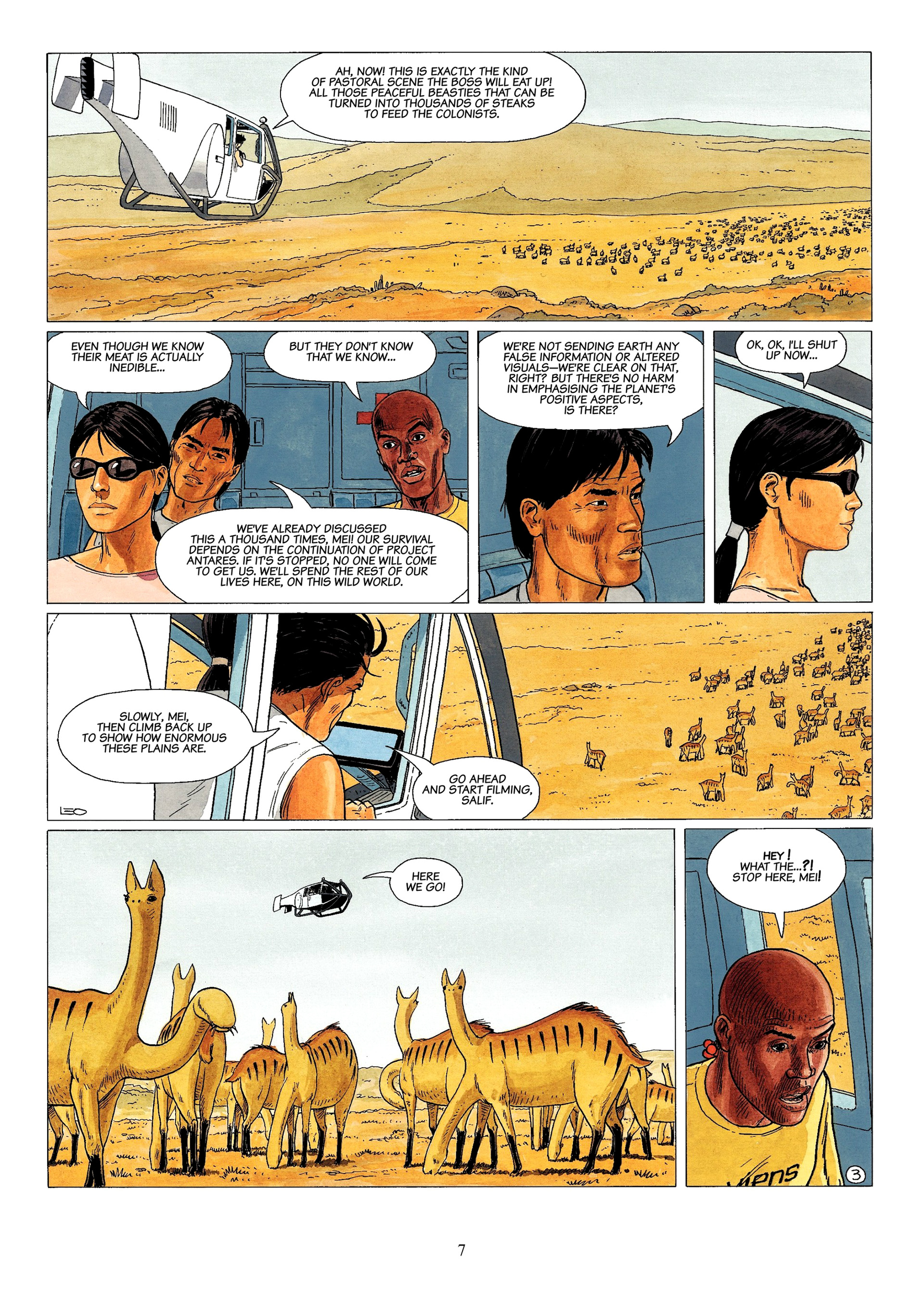 Read online Antares comic -  Issue #1 - 5