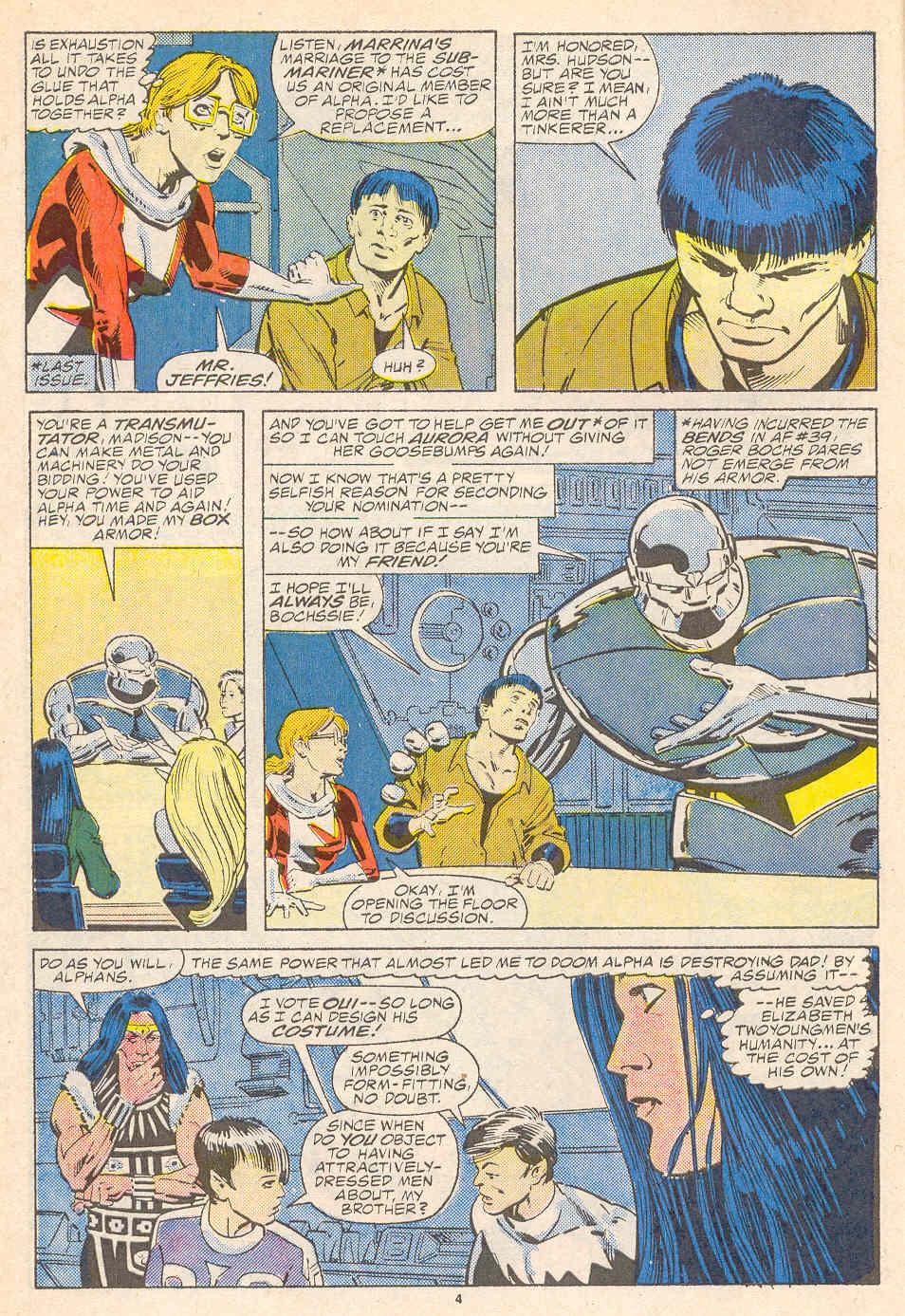 Read online Alpha Flight (1983) comic -  Issue #41 - 5