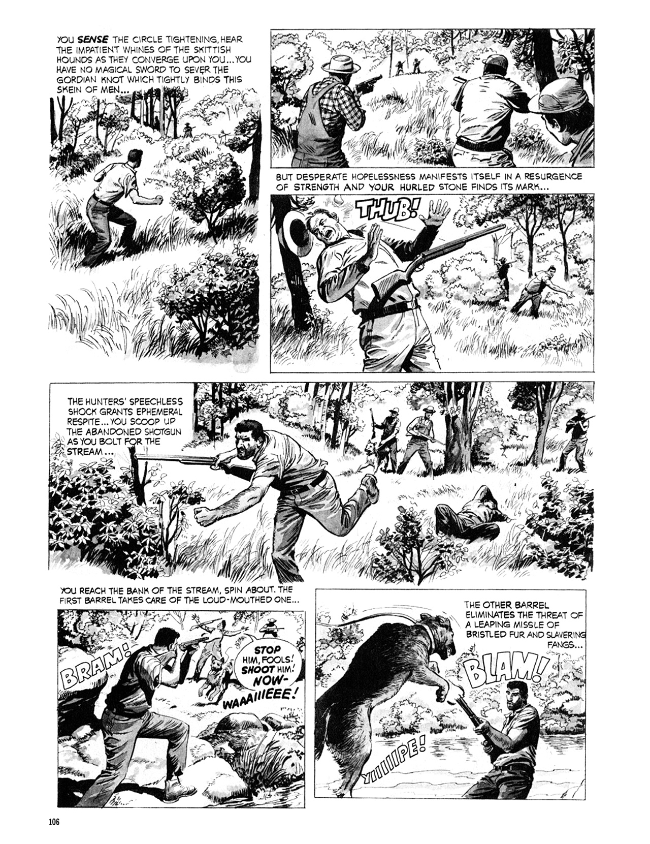 Read online Eerie Archives comic -  Issue # TPB 9 - 107