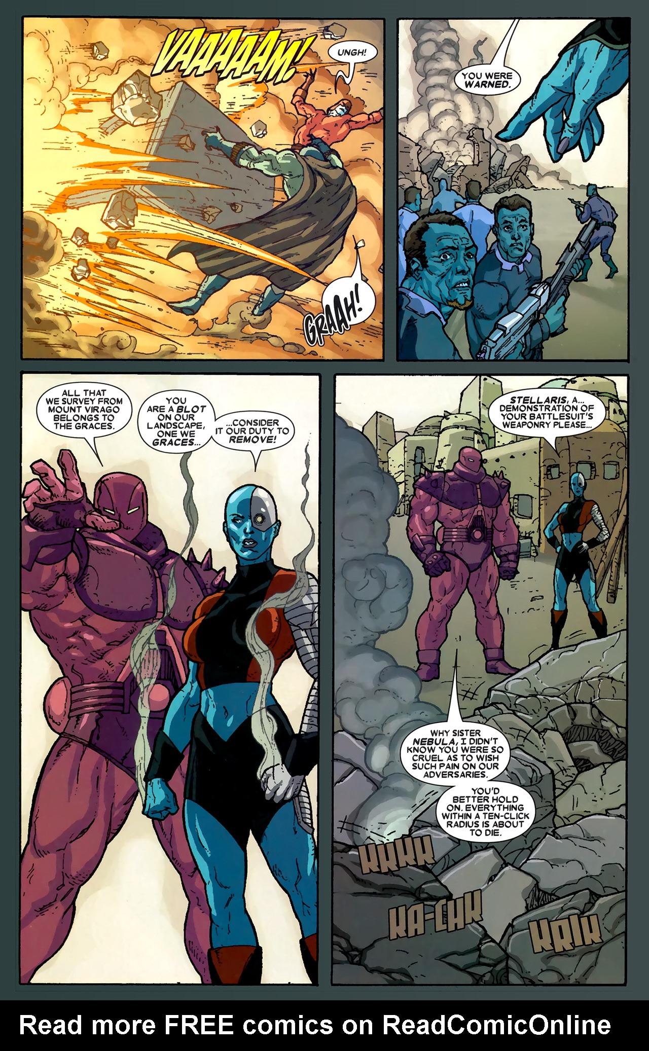 Read online Annihilation: Ronan comic -  Issue #1 - 22
