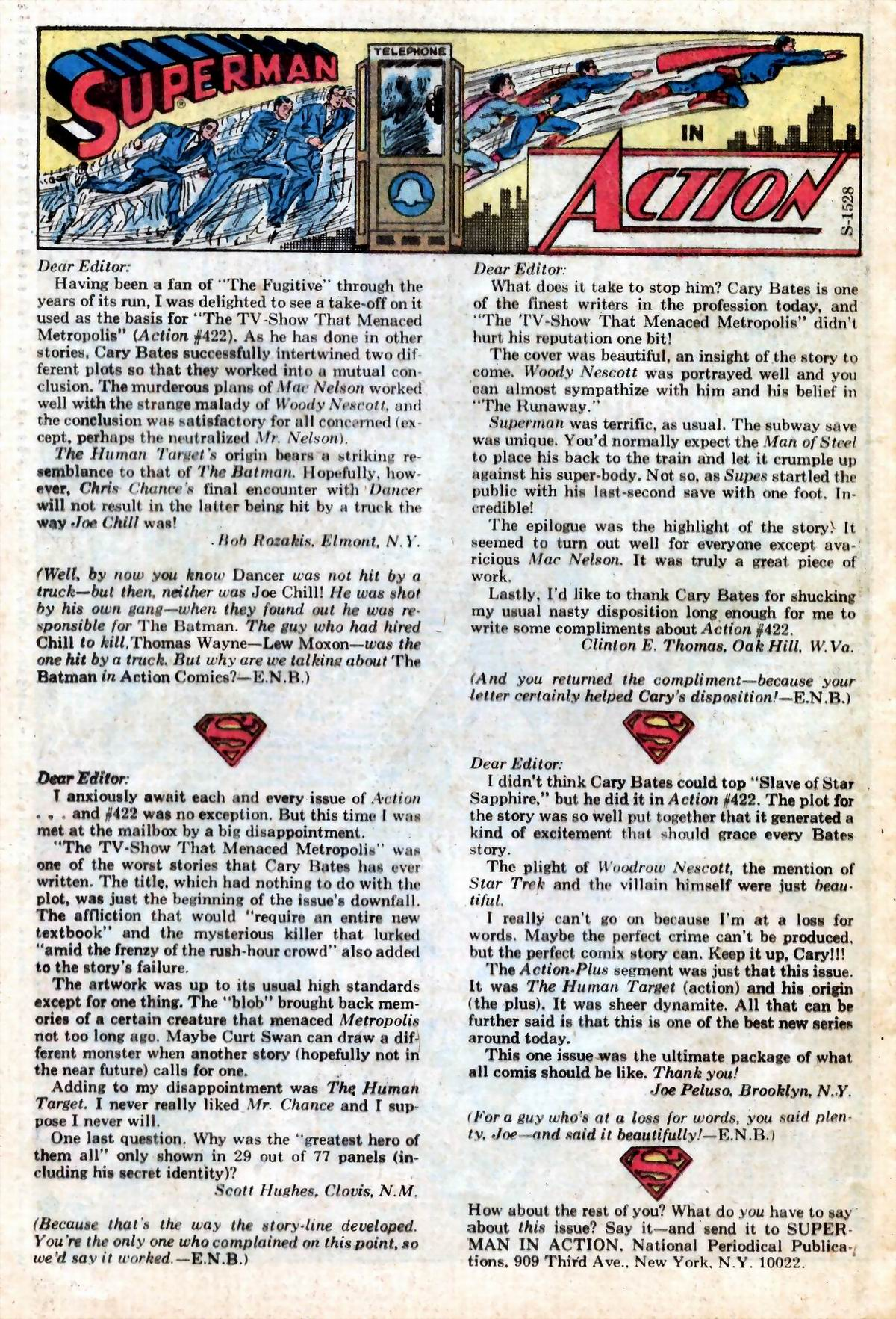 Read online Action Comics (1938) comic -  Issue #426 - 24