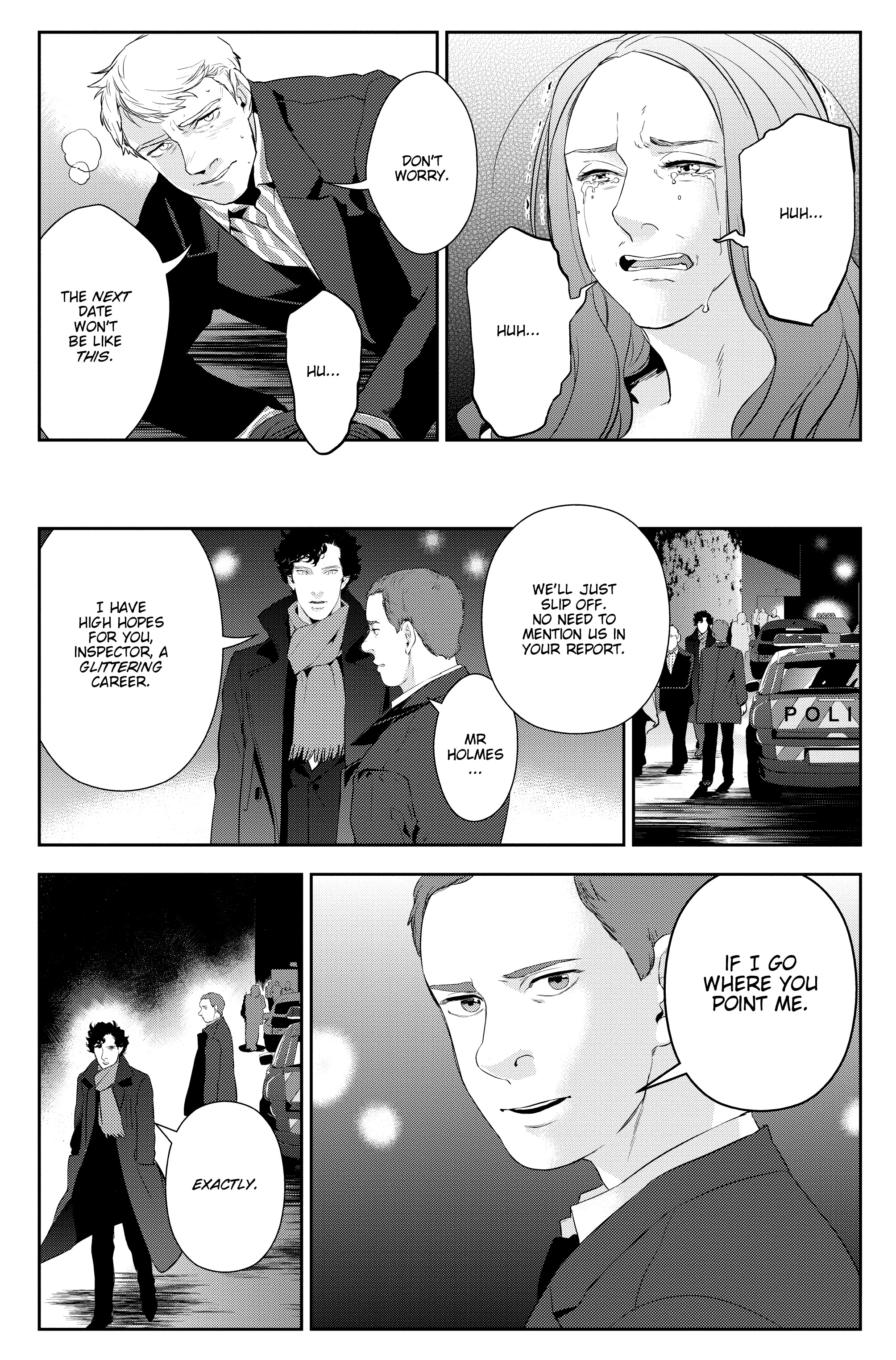 Read online Sherlock: The Blind Banker comic -  Issue #6 - 16