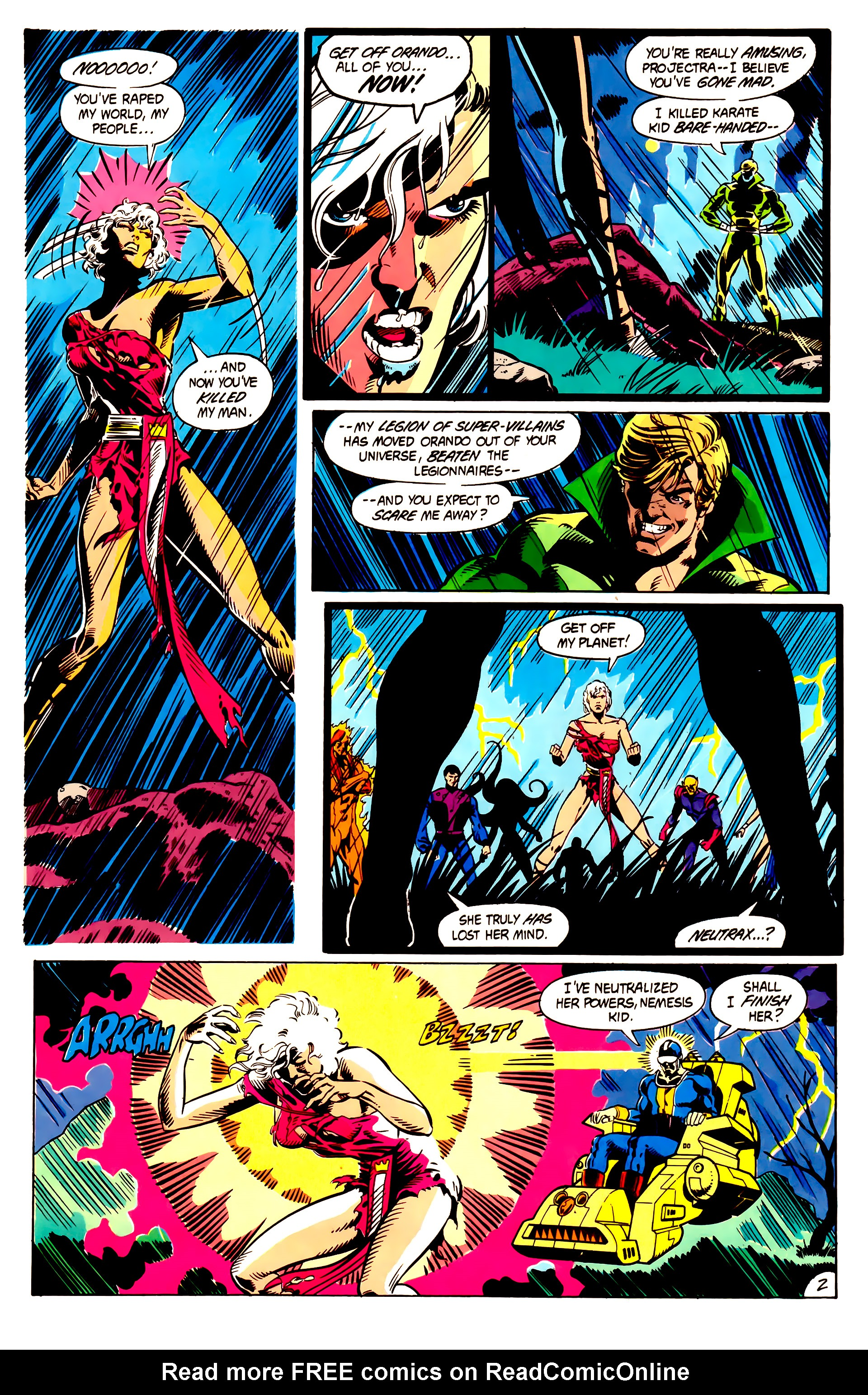 Legion of Super-Heroes (1984) 5 Page 3