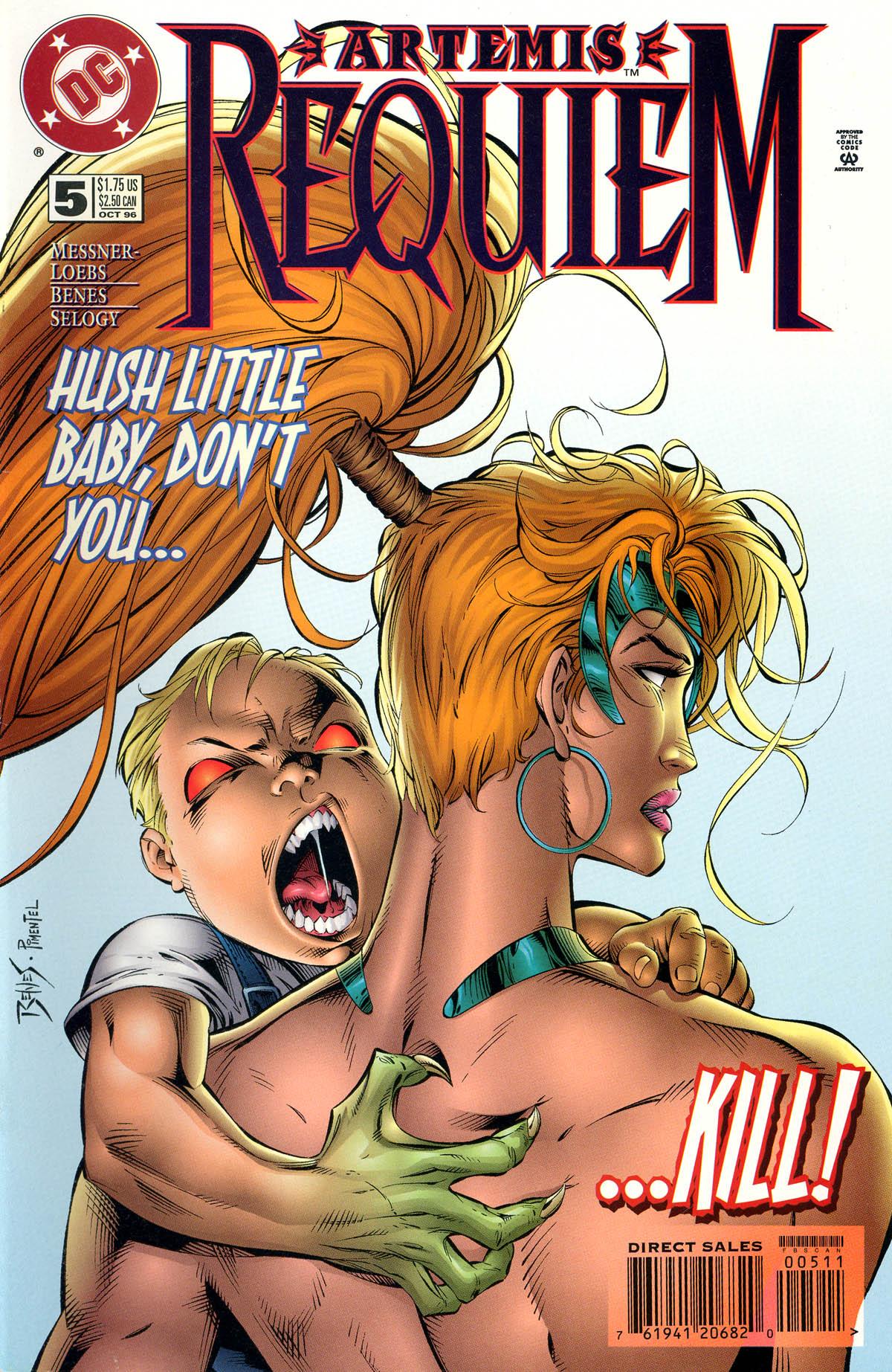 Read online Artemis: Requiem comic -  Issue #5 - 1