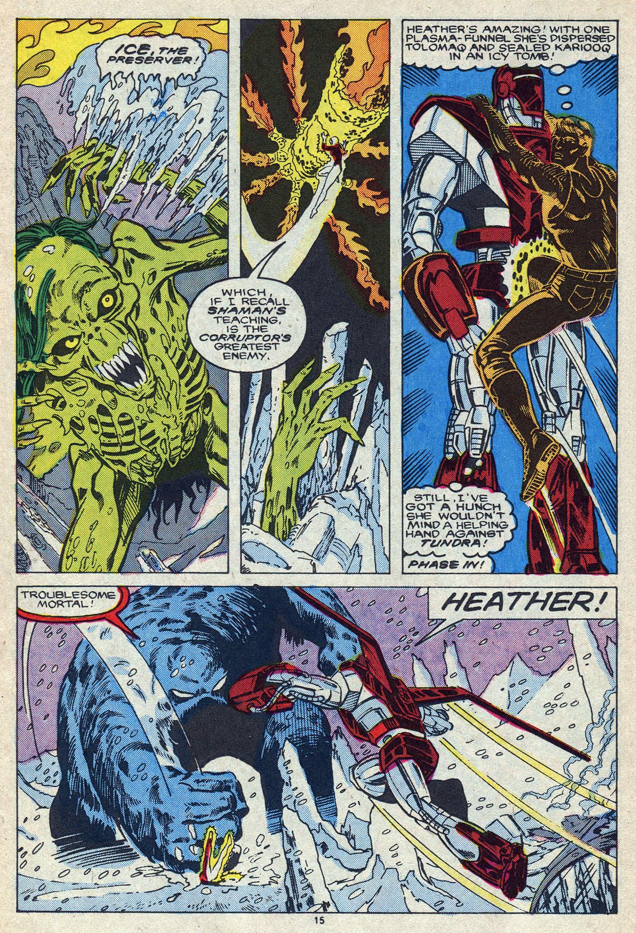 Read online Alpha Flight (1983) comic -  Issue #55 - 21