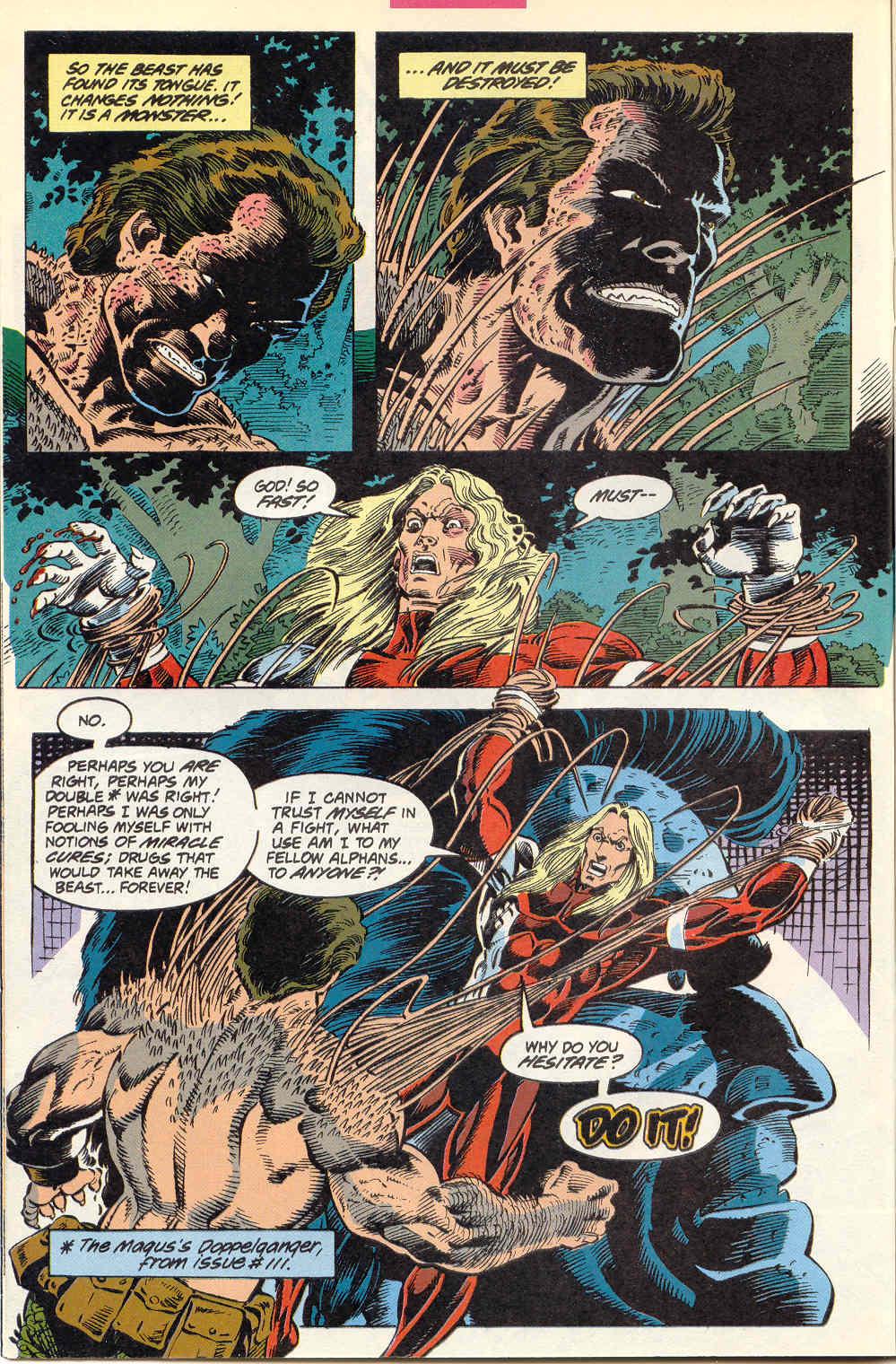 Read online Alpha Flight (1983) comic -  Issue #115 - 11