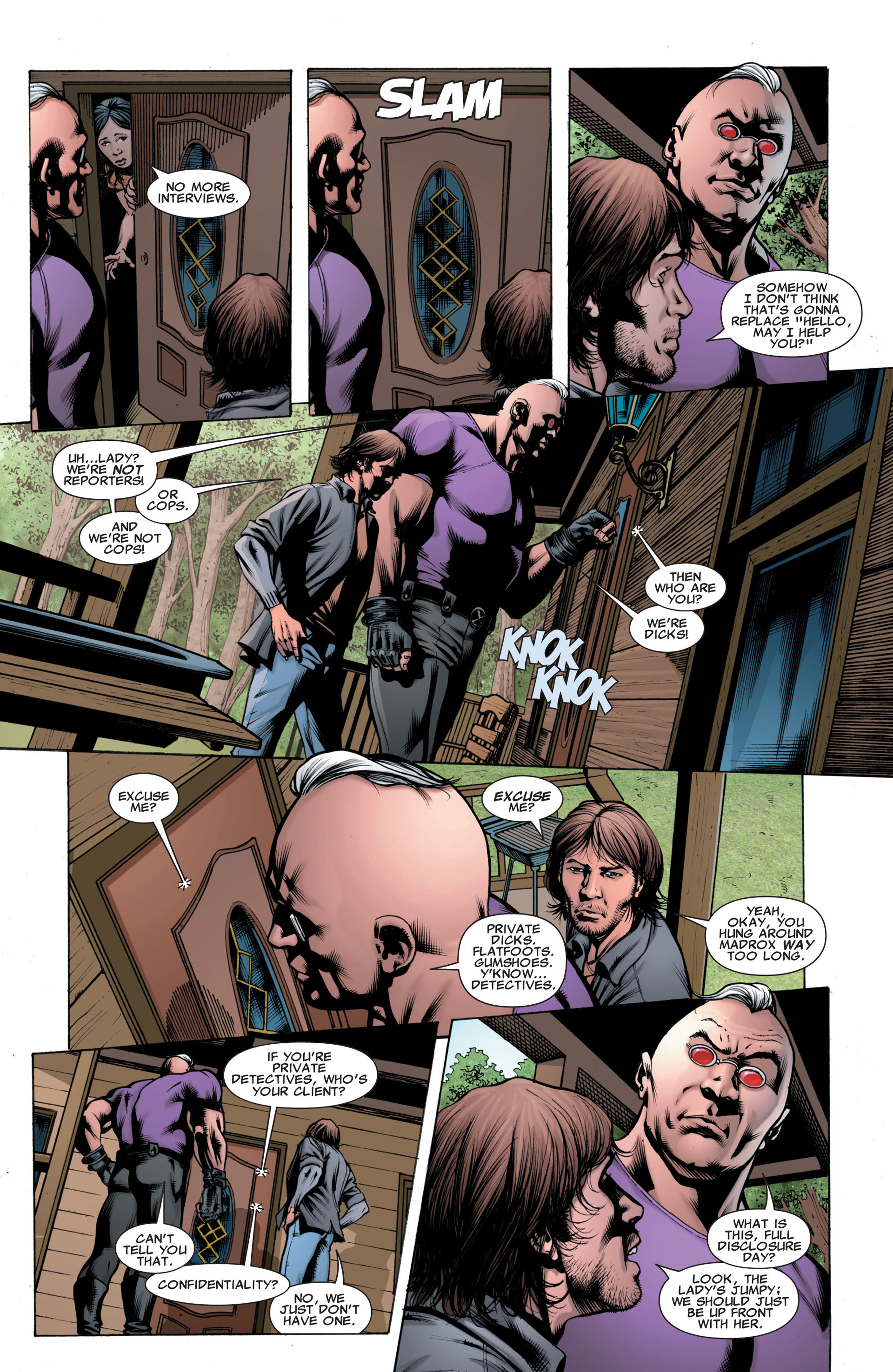 Read online X-Factor (2006) comic -  Issue #43 - 9