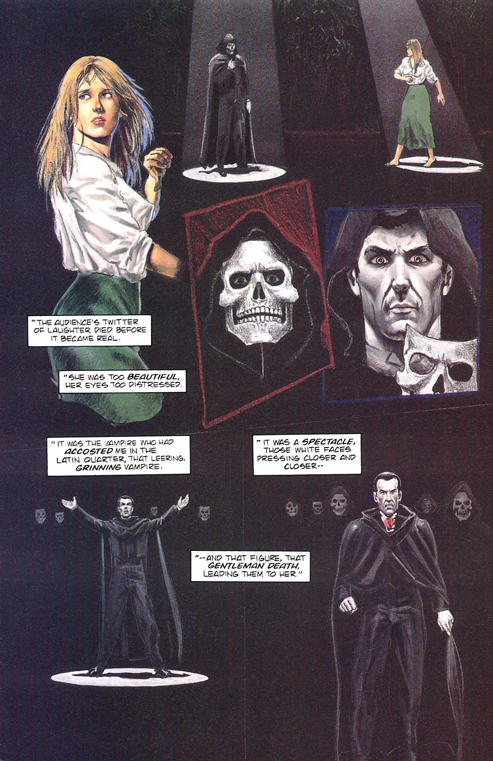 Read online Anne Rice's Interview with the Vampire comic -  Issue #8 - 12