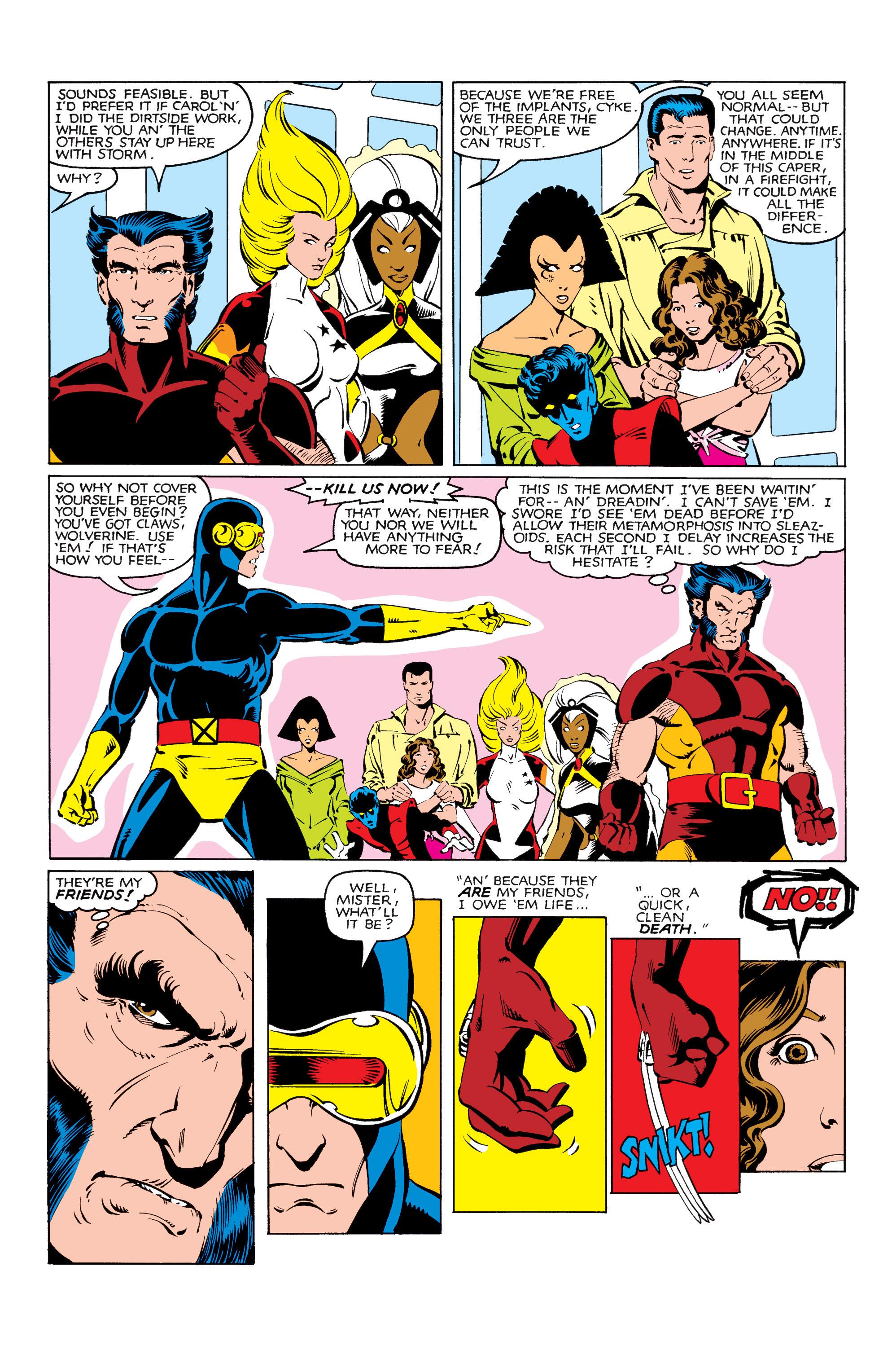 Read online Uncanny X-Men (1963) comic -  Issue #166 - 12