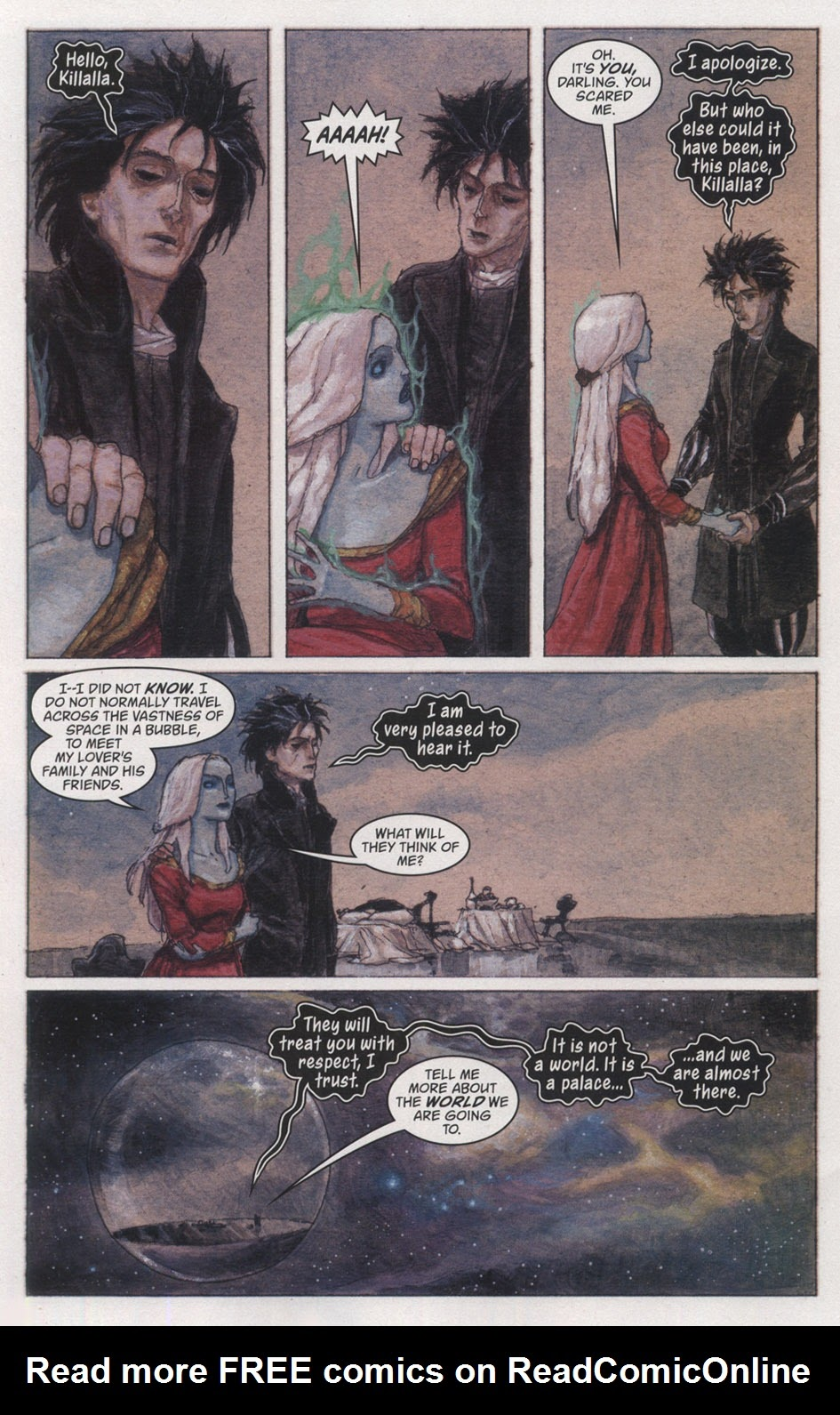 Read online The Sandman: Endless Nights comic -  Issue # _Special - 6