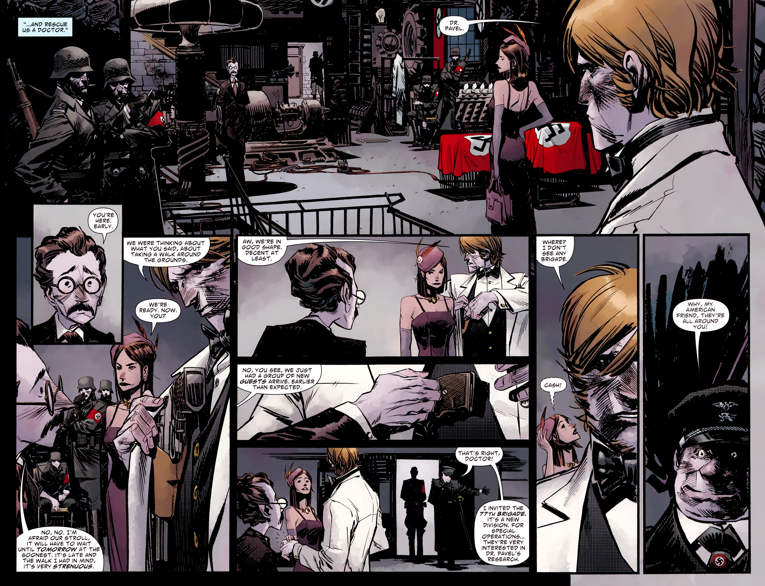 Read online American Vampire: Survival of the Fittest comic -  Issue #2 - 18
