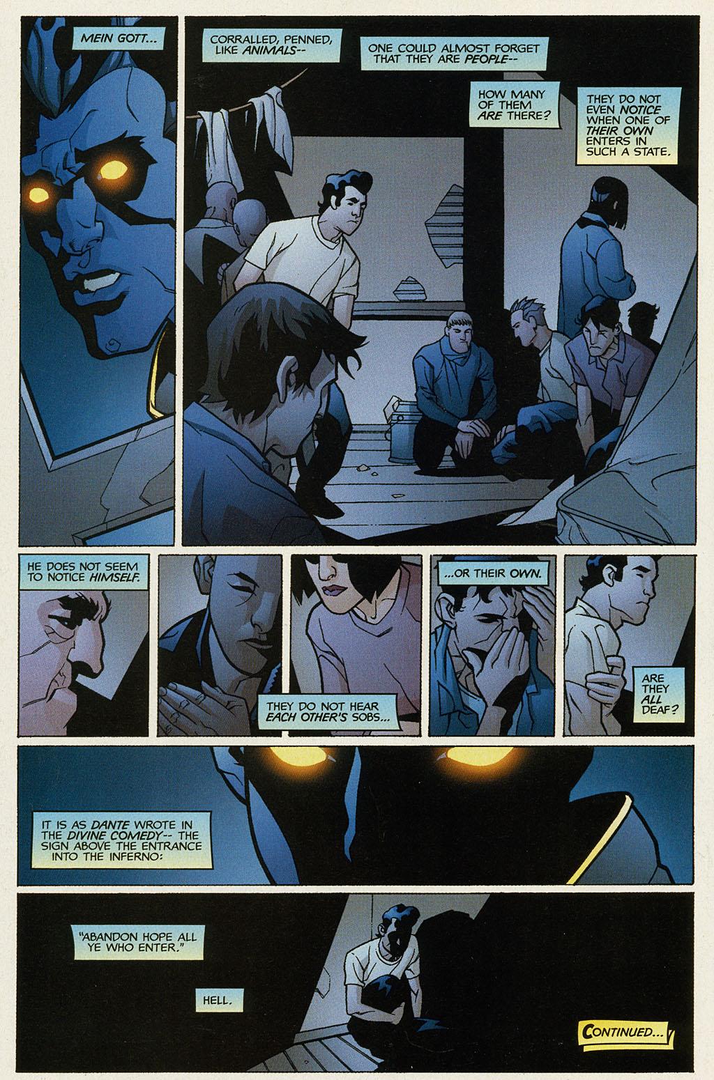 Read online Nightcrawler (2002) comic -  Issue #1 - 24