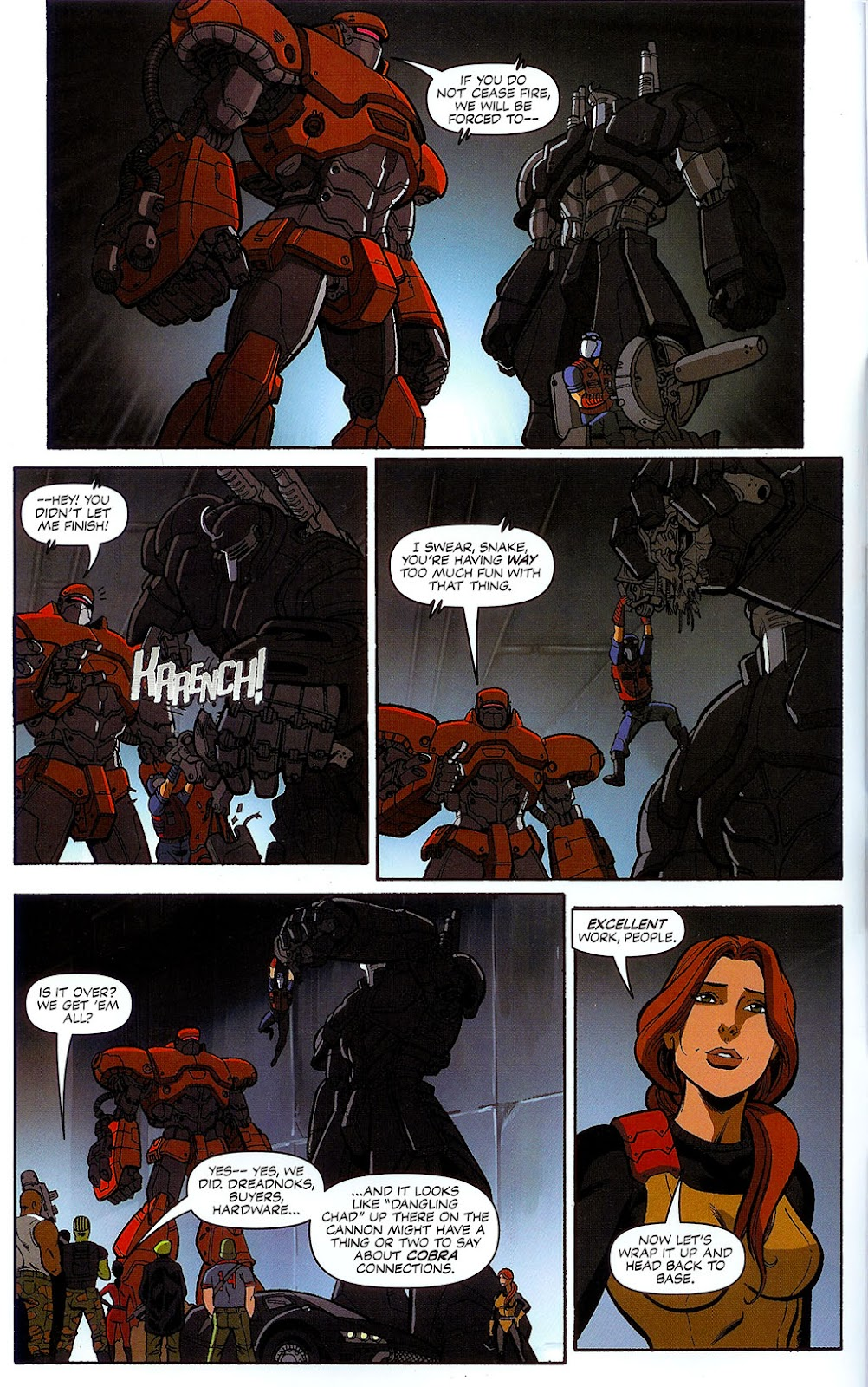G.I. Joe vs. The Transformers II Issue #1 #2 - English 9