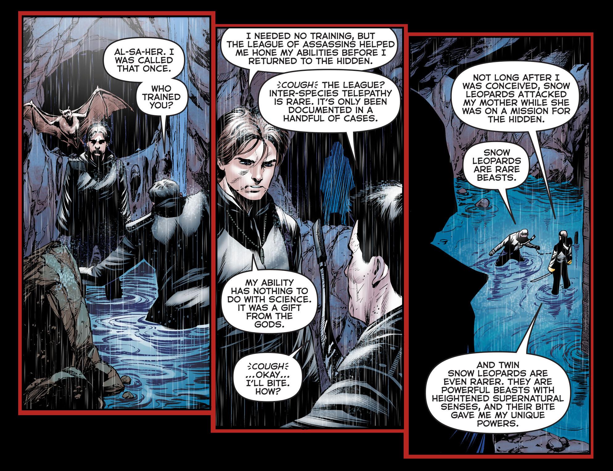 Read online Arrow: The Dark Archer comic -  Issue #5 - 5
